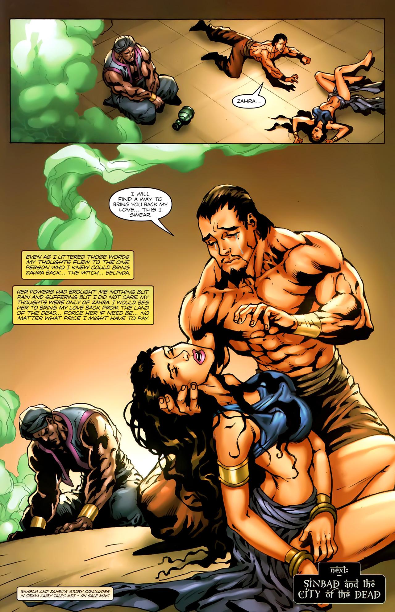 Read online 1001 Arabian Nights: The Adventures of Sinbad comic -  Issue #7 - 23