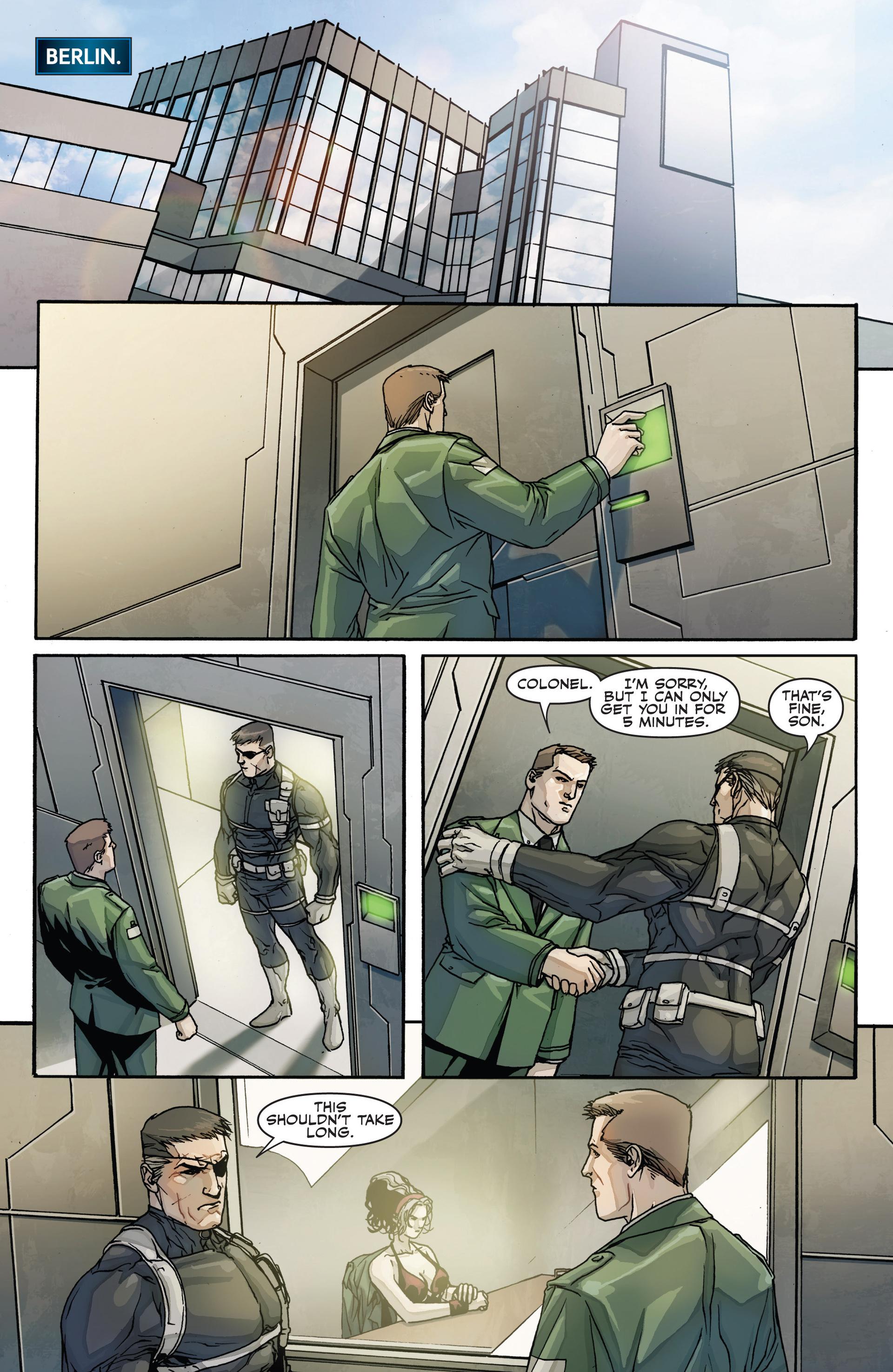 Read online Secret Warriors comic -  Issue #28 - 4