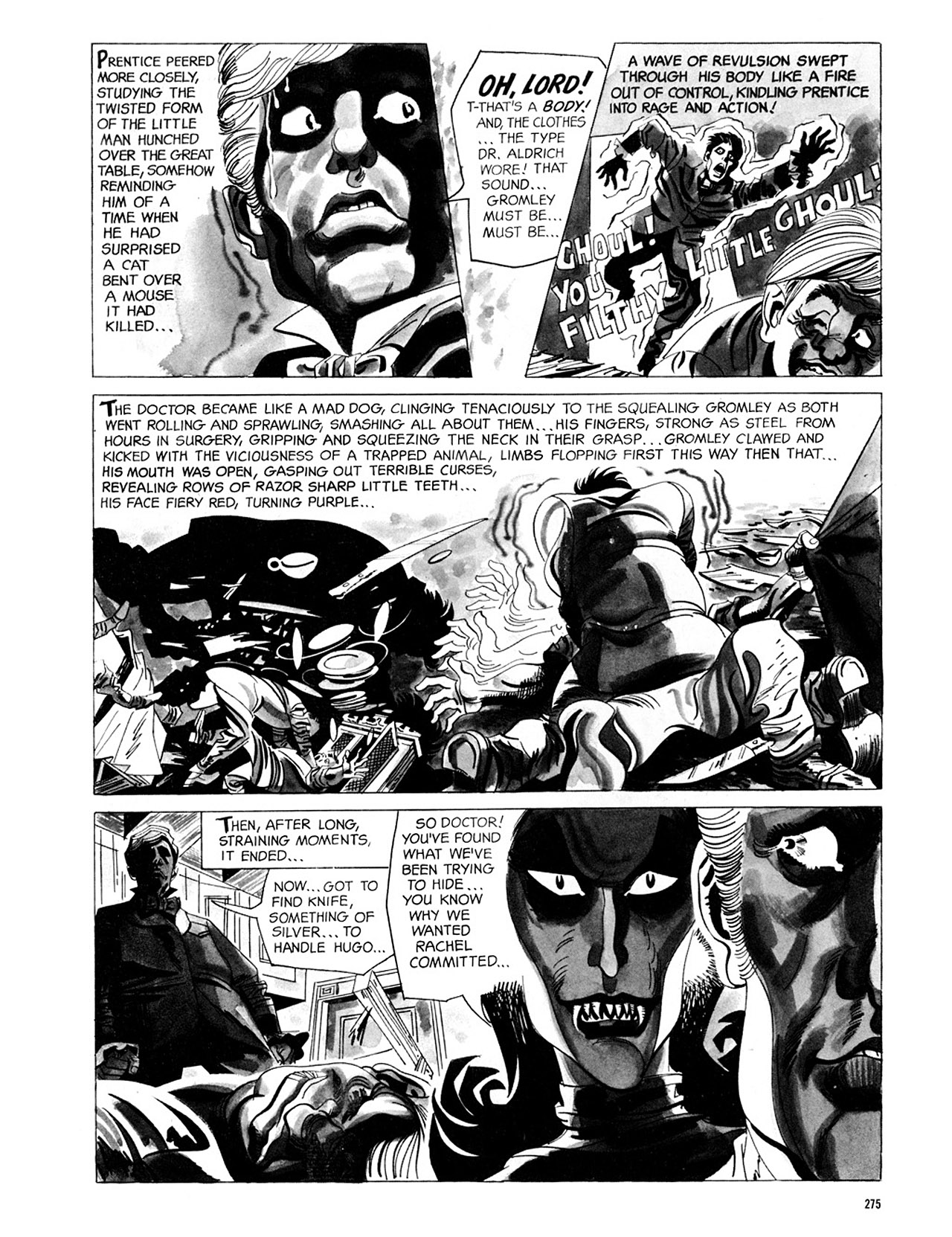 Read online Eerie Archives comic -  Issue # TPB 2 - 276