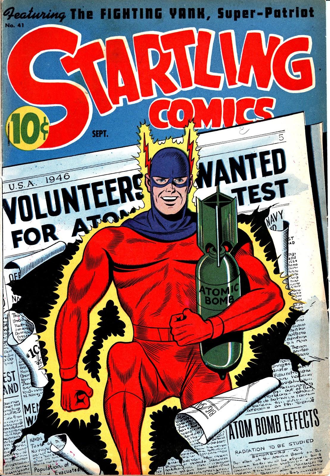 Startling Comics 41 Page 1