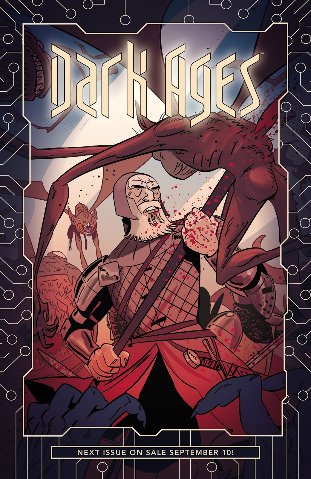 Read online Dark Ages comic -  Issue #1 - 25