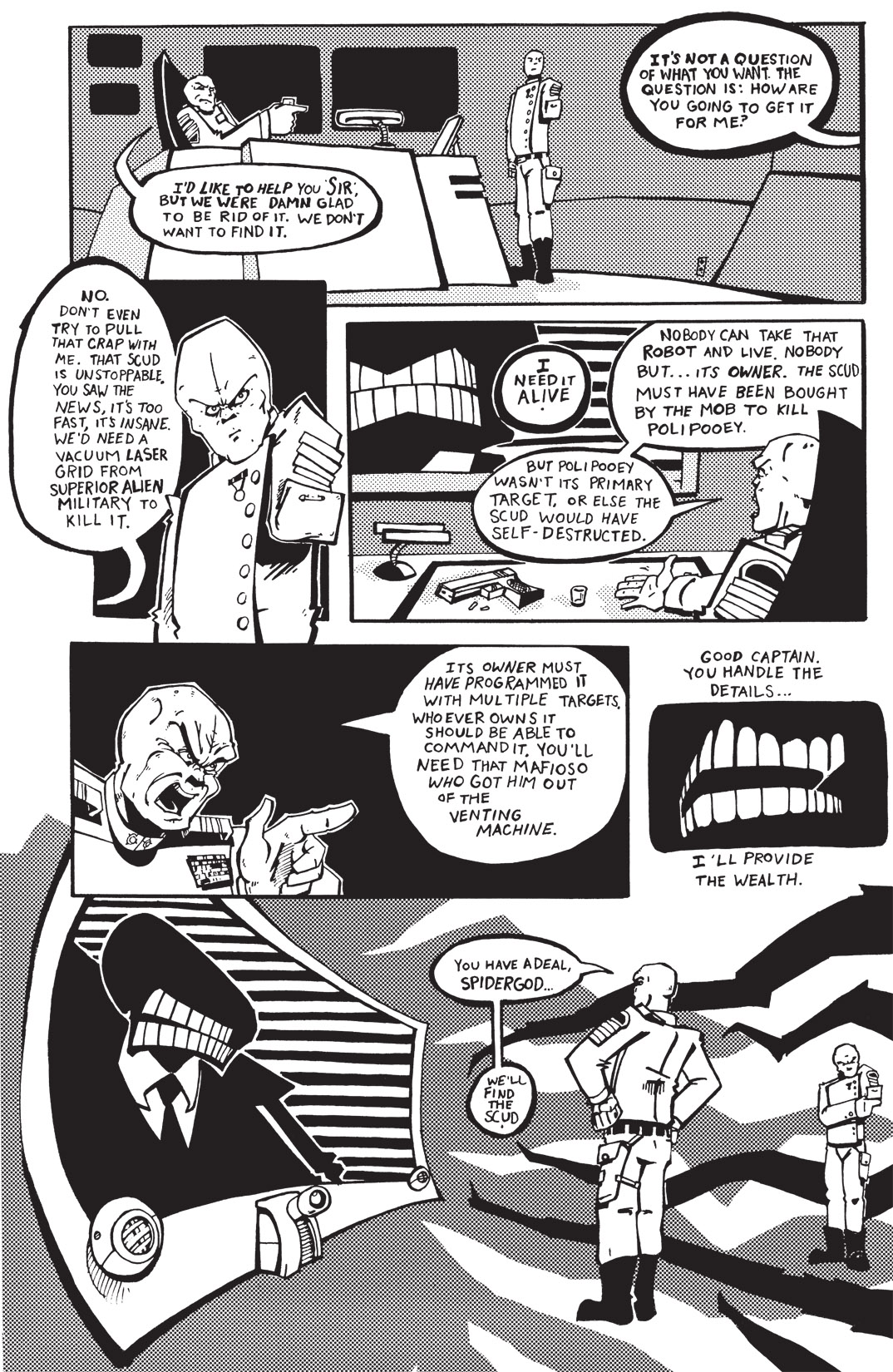 Read online Scud: The Disposable Assassin: The Whole Shebang comic -  Issue # TPB (Part 1) - 91