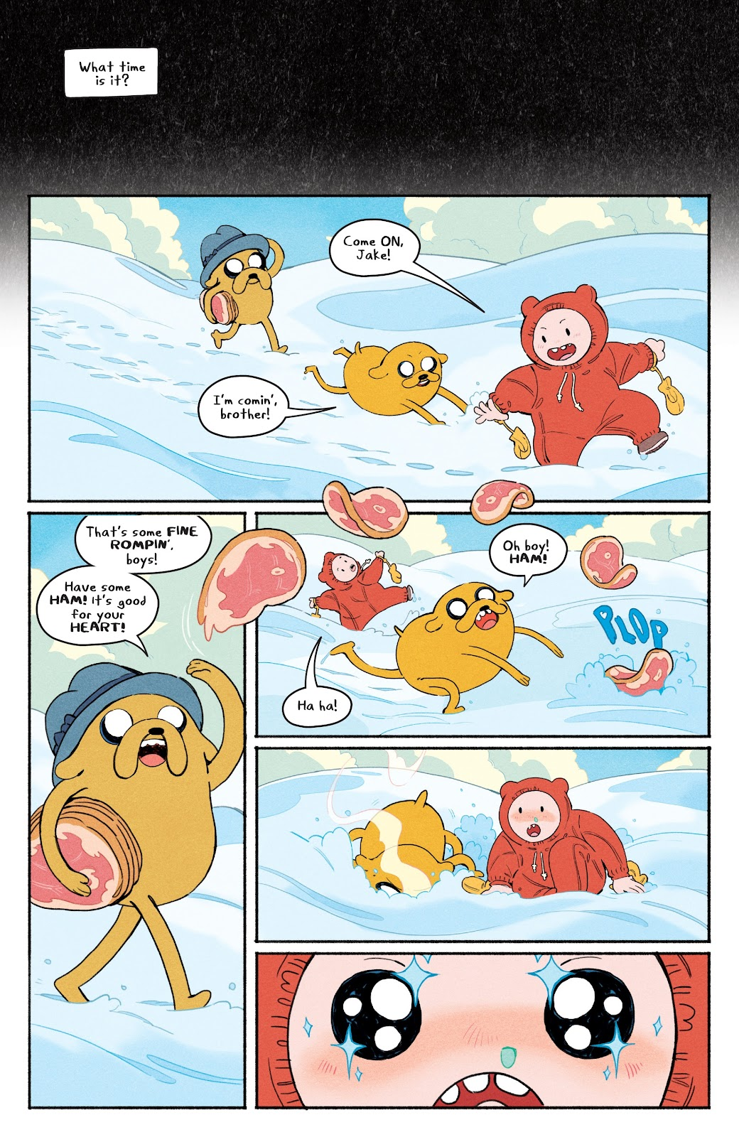 Read online Adventure Time: Beginning of the End comic -  Issue # _TPB - 6