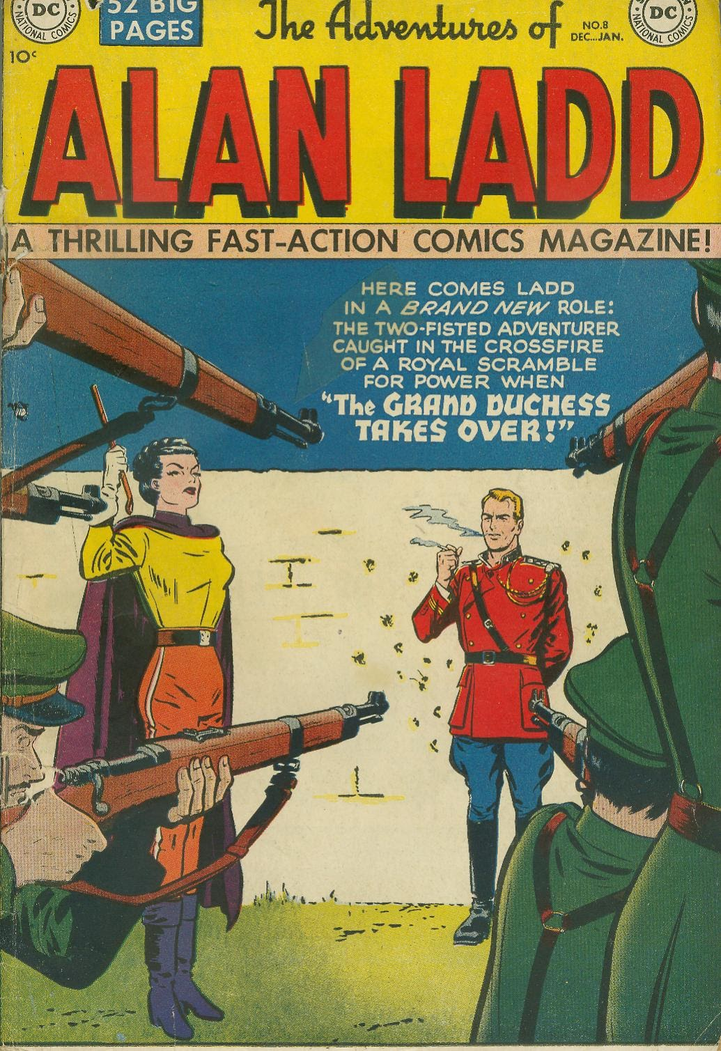 Adventures of Alan Ladd issue 8 - Page 1