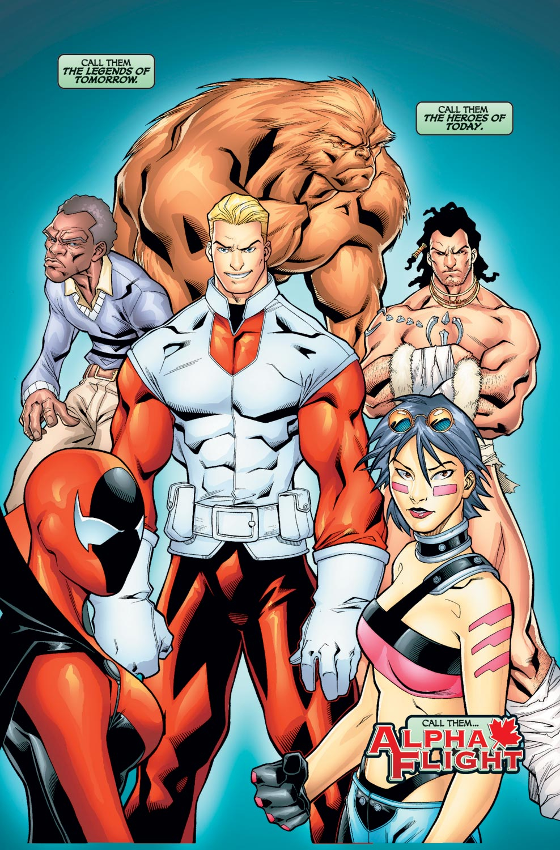 Read online Alpha Flight (2004) comic -  Issue #1 - 2