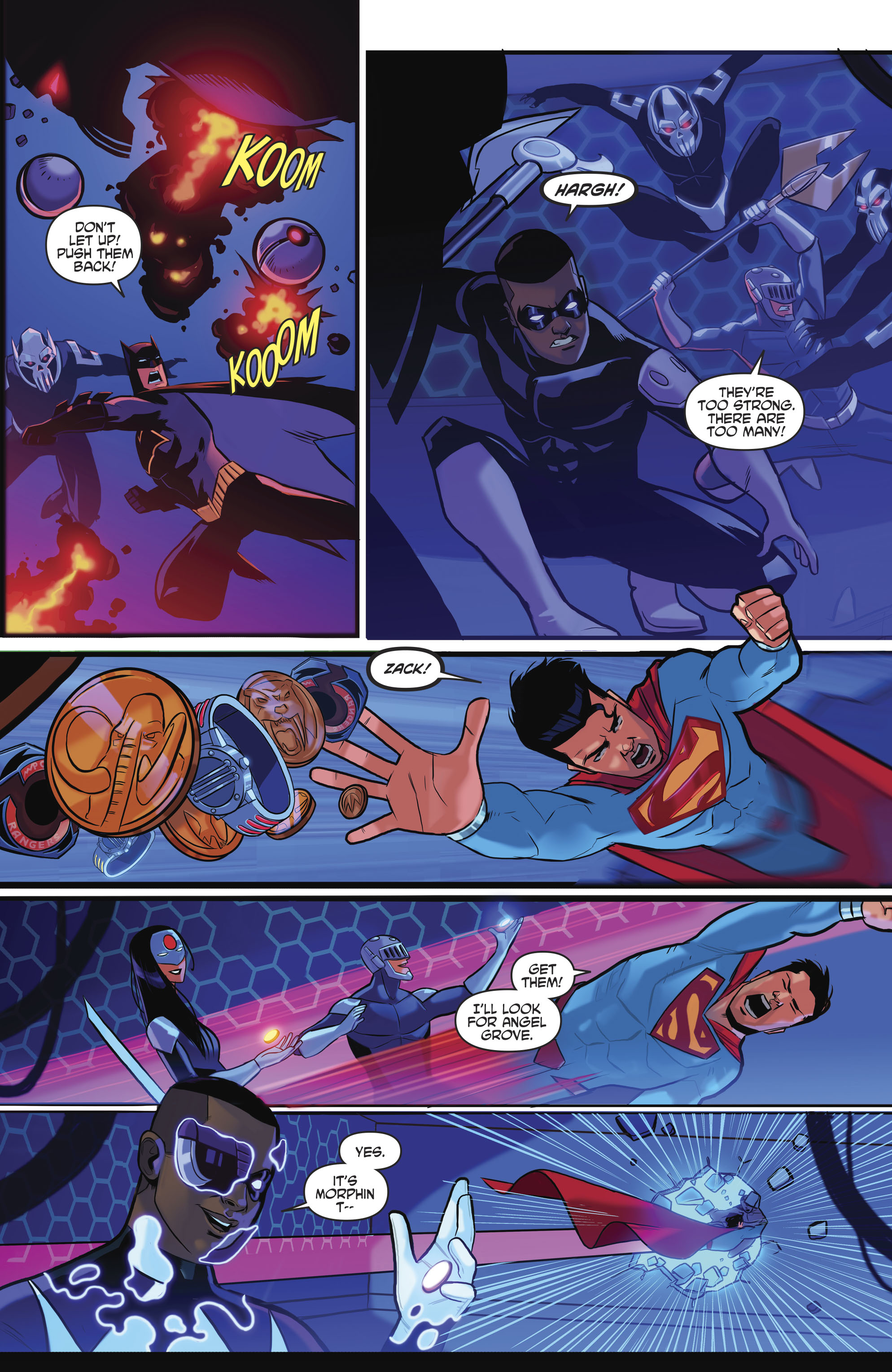 Read online Justice League/Mighty Morphin' Power Rangers comic -  Issue #4 - 21