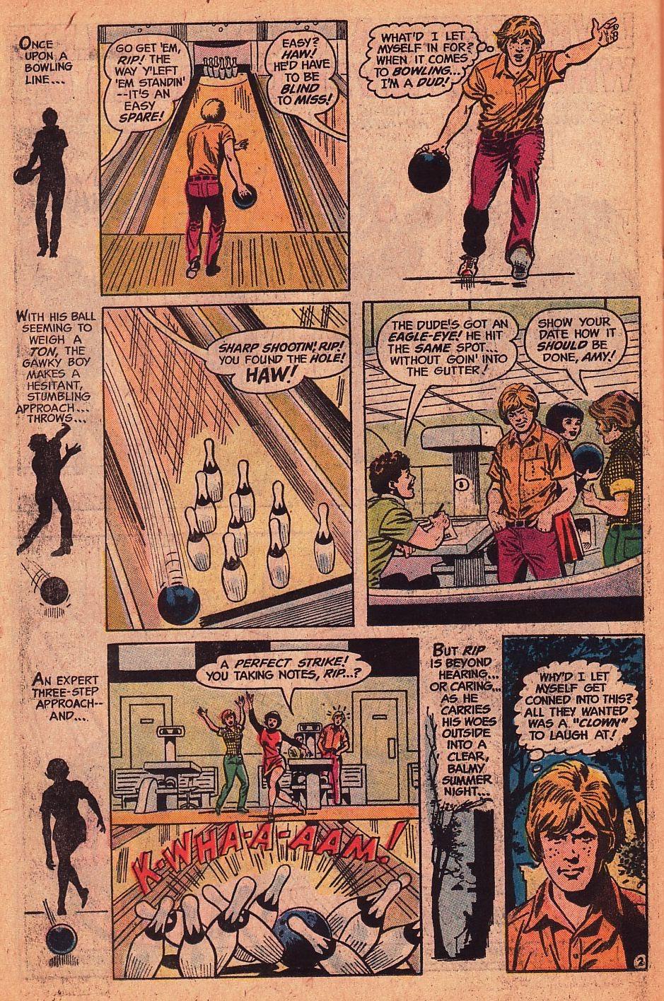 Read online Strange Sports Stories (1973) comic -  Issue #1 - 16