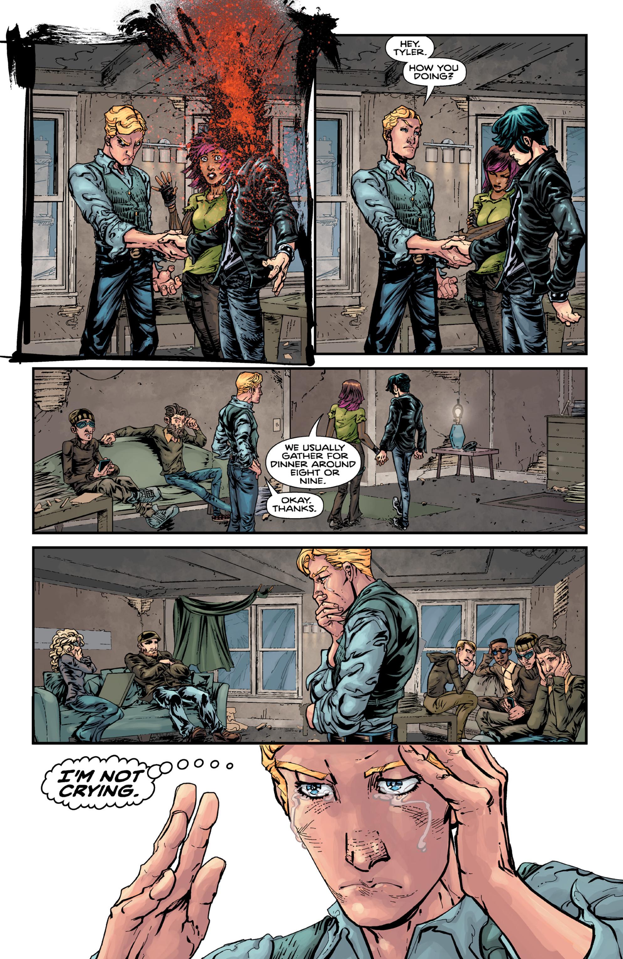 Read online Brain Boy:  The Men from G.E.S.T.A.L.T. comic -  Issue # TPB - 97