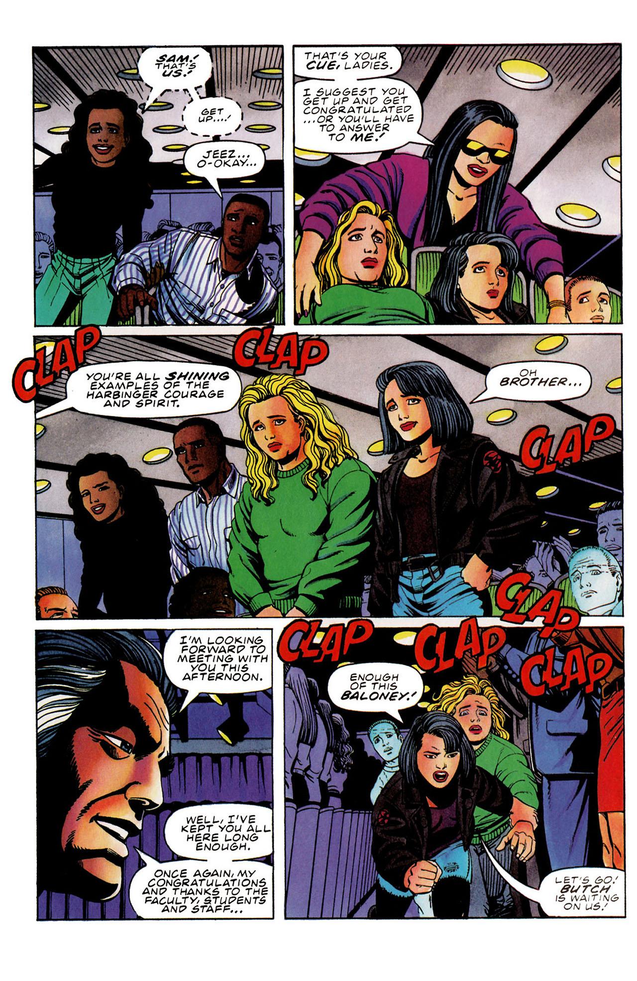 Read online Harbinger (1992) comic -  Issue #31 - 4