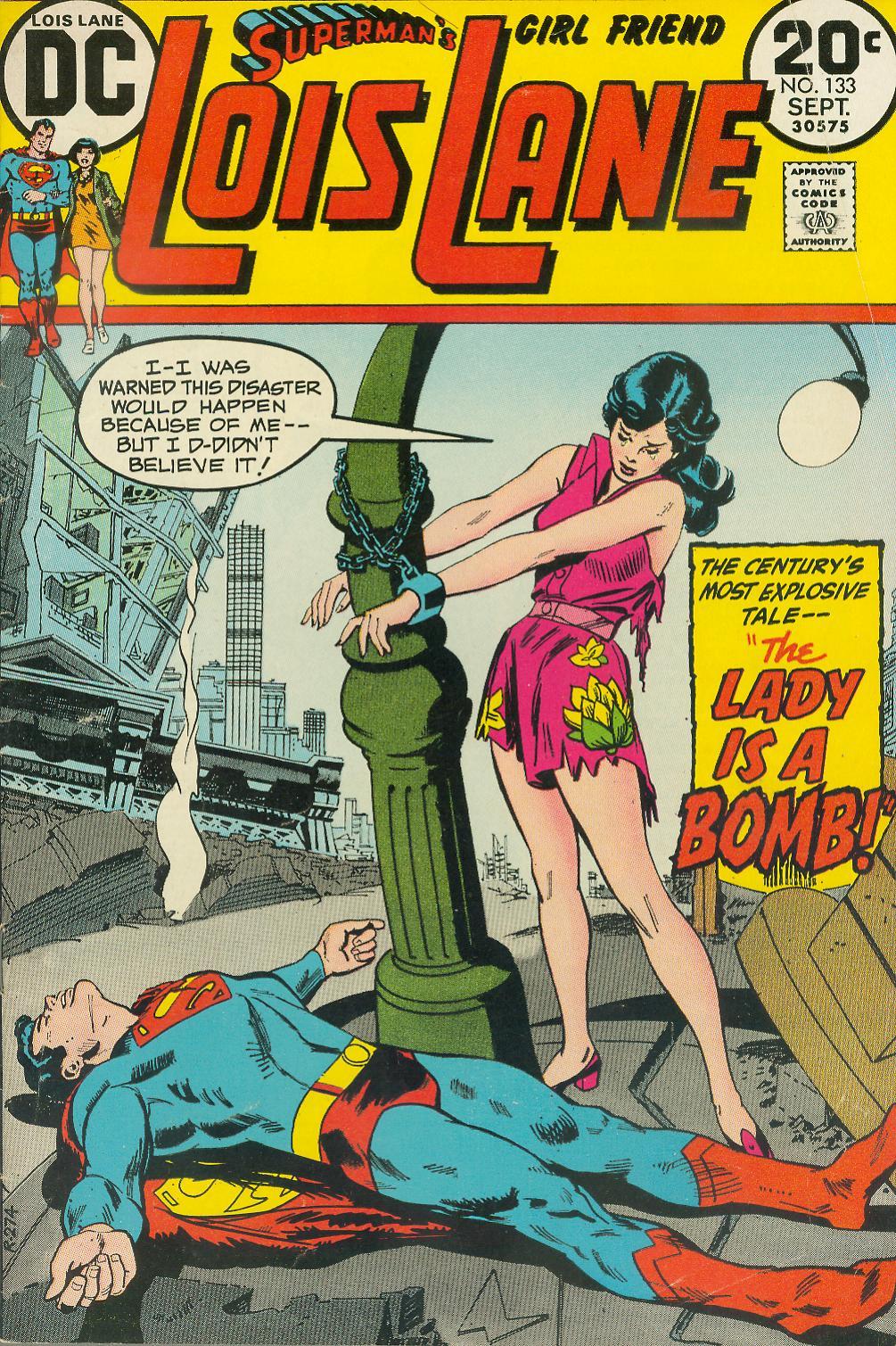 Supermans Girl Friend, Lois Lane 133 Page 1