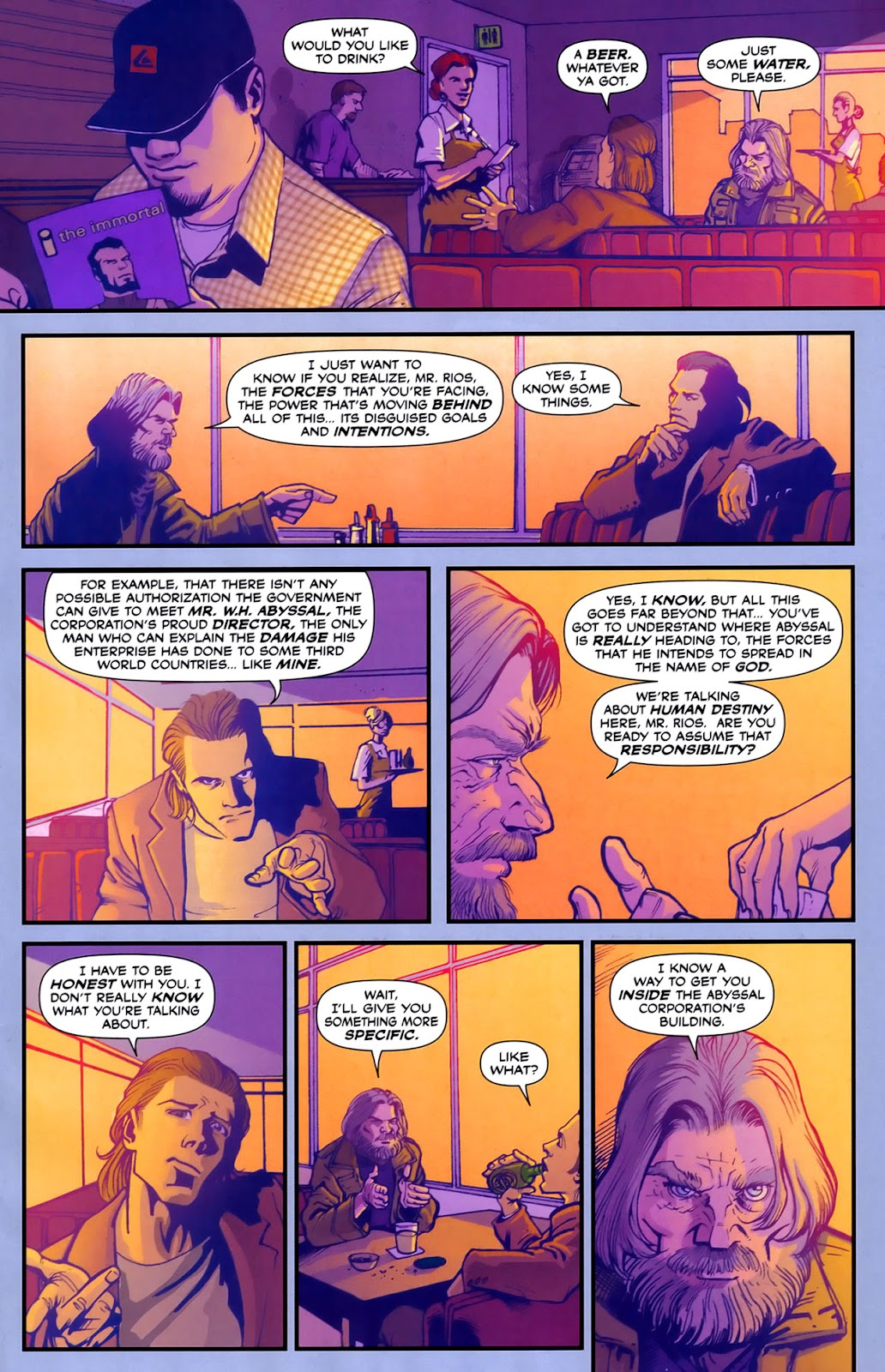 Read online Lazarus (2007) comic -  Issue #2 - 11
