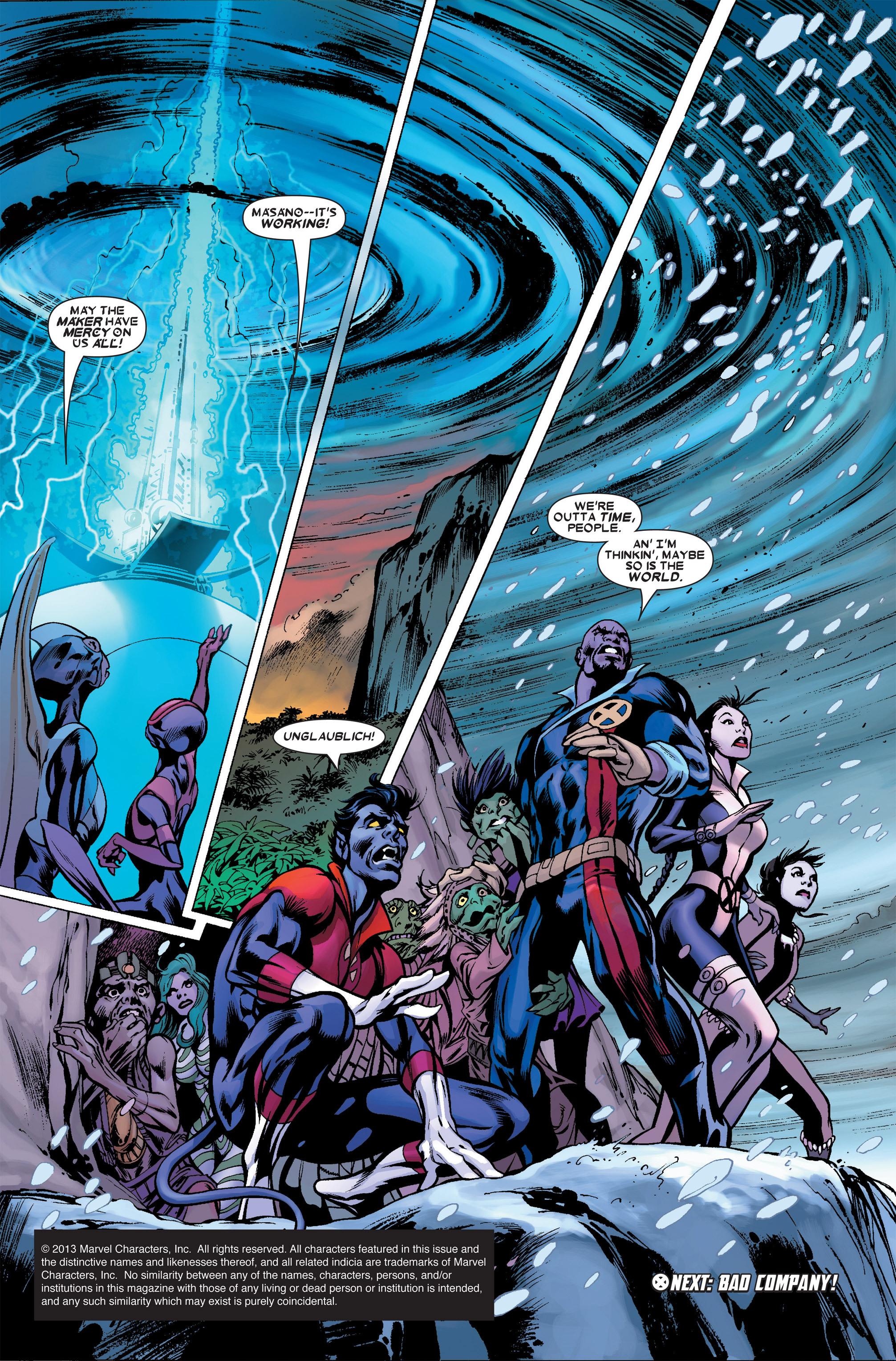 Read online Uncanny X-Men (1963) comic -  Issue #458 - 23
