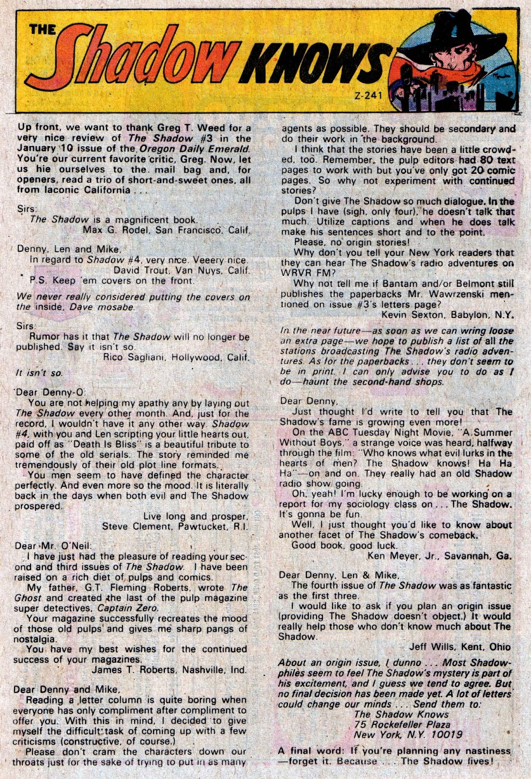The Shadow (1973) issue 6 - Page 33