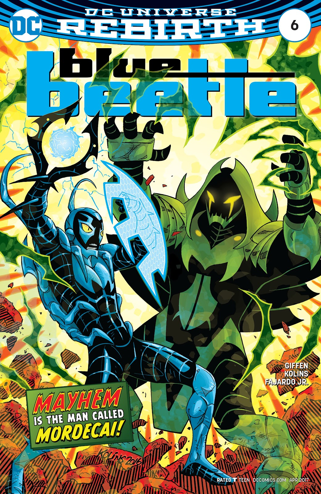 Blue Beetle (2016) 6 Page 1