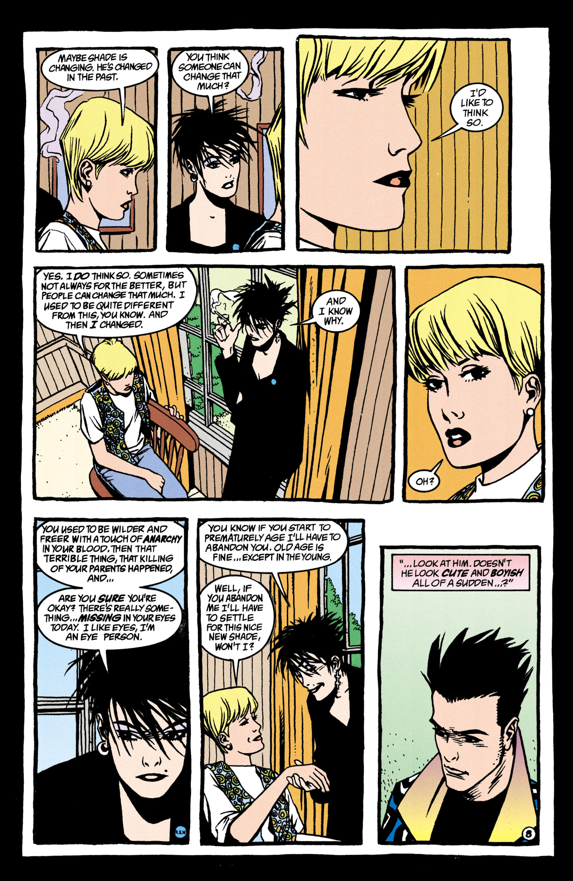 Read online Shade, the Changing Man comic -  Issue #38 - 9