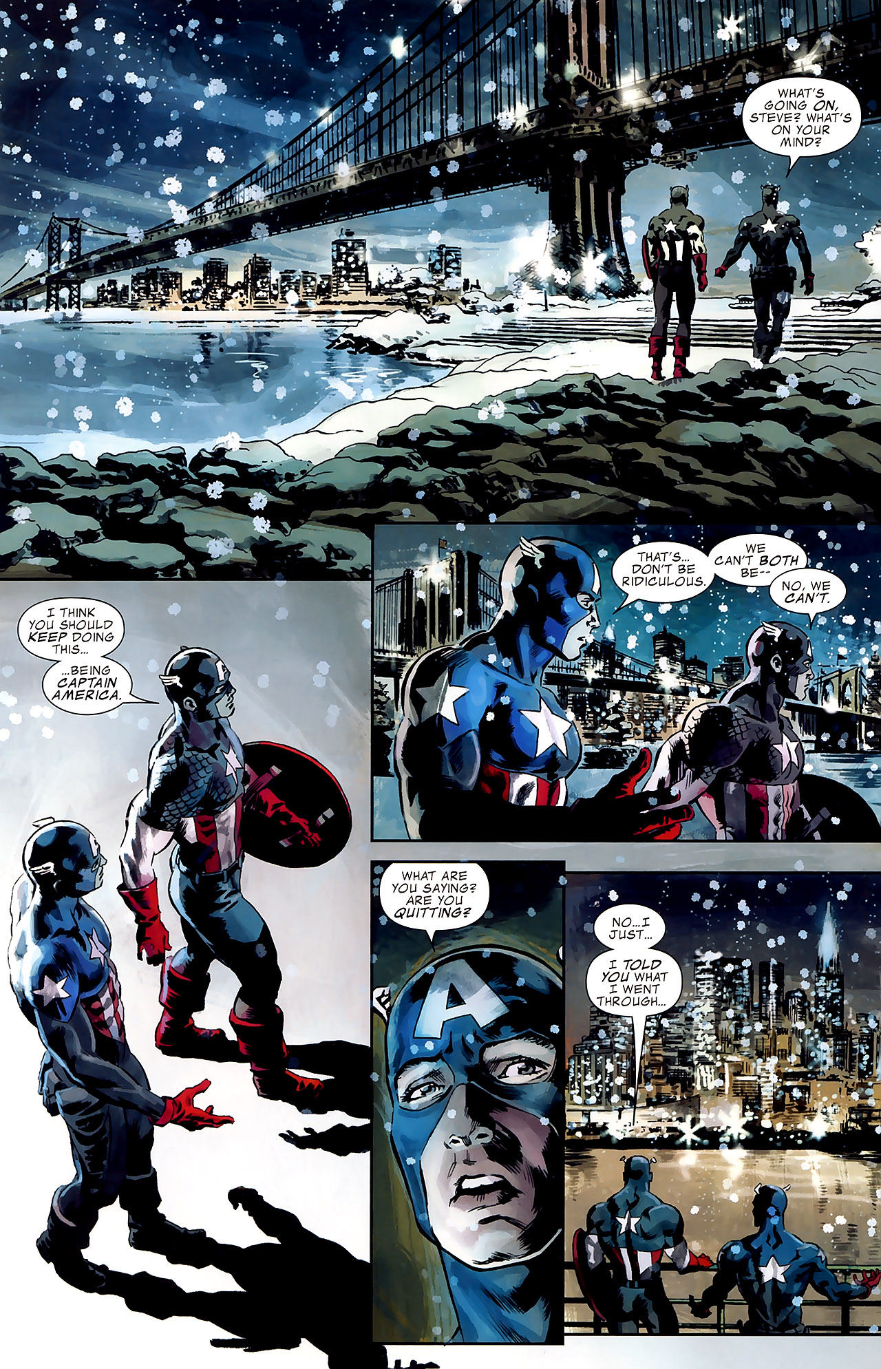 Read online Captain America Reborn: Who Will Wield the Shield? comic -  Issue # Full - 22
