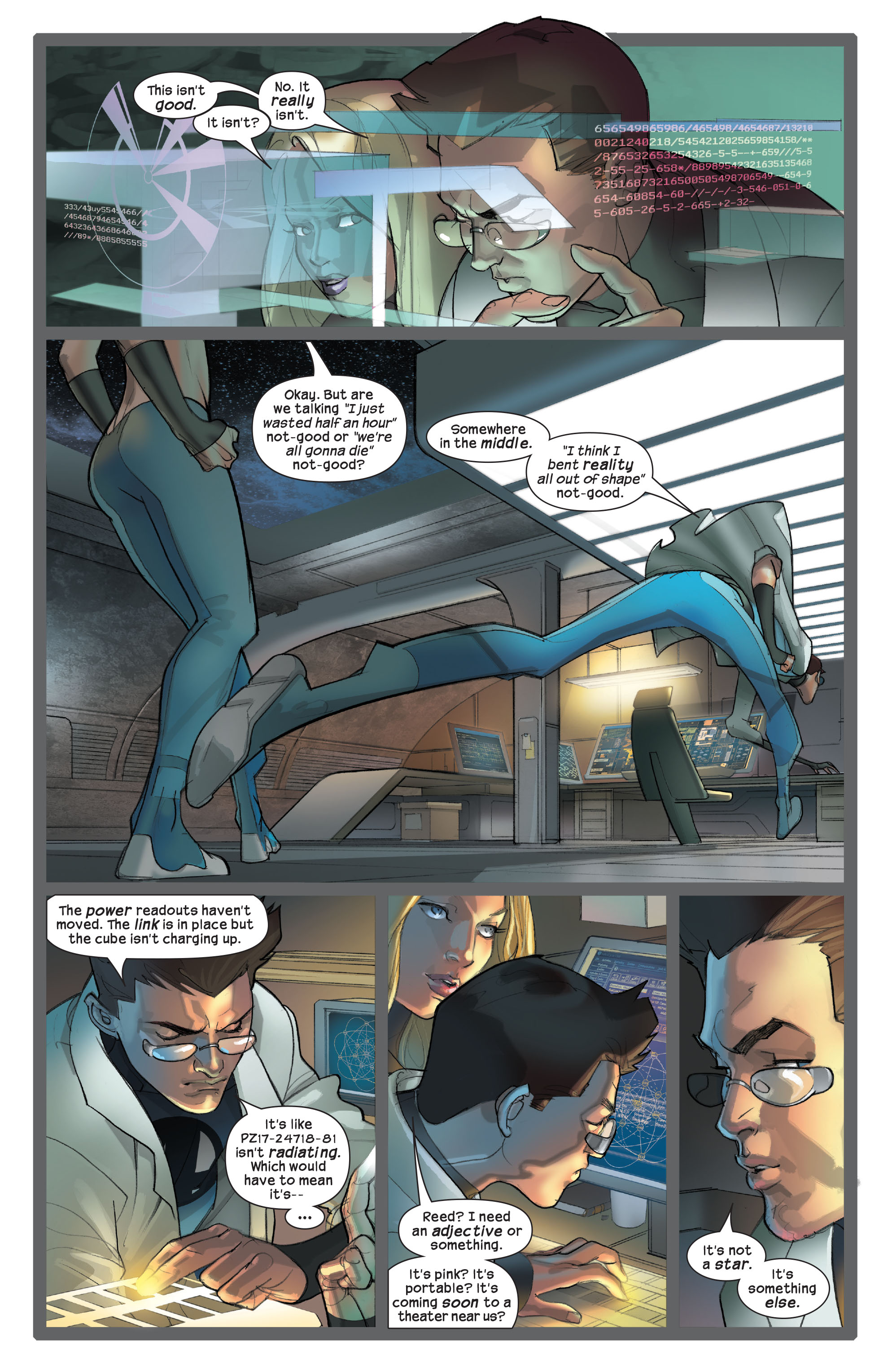 Read online Ultimate Fantastic Four (2004) comic -  Issue #42 - 16