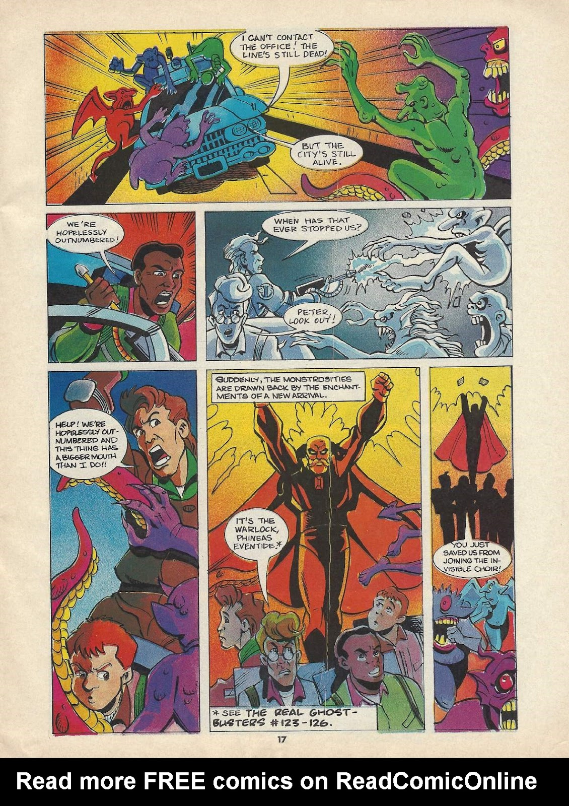 The Real Ghostbusters Issue #148 #131 - English 9