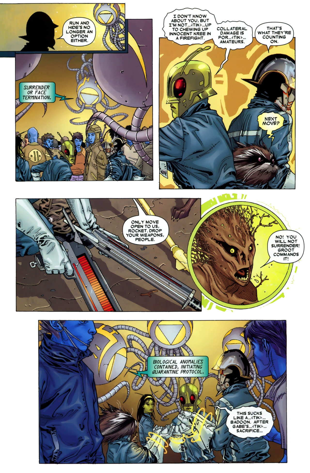 Read online Annihilation: Conquest - Starlord comic -  Issue #3 - 23