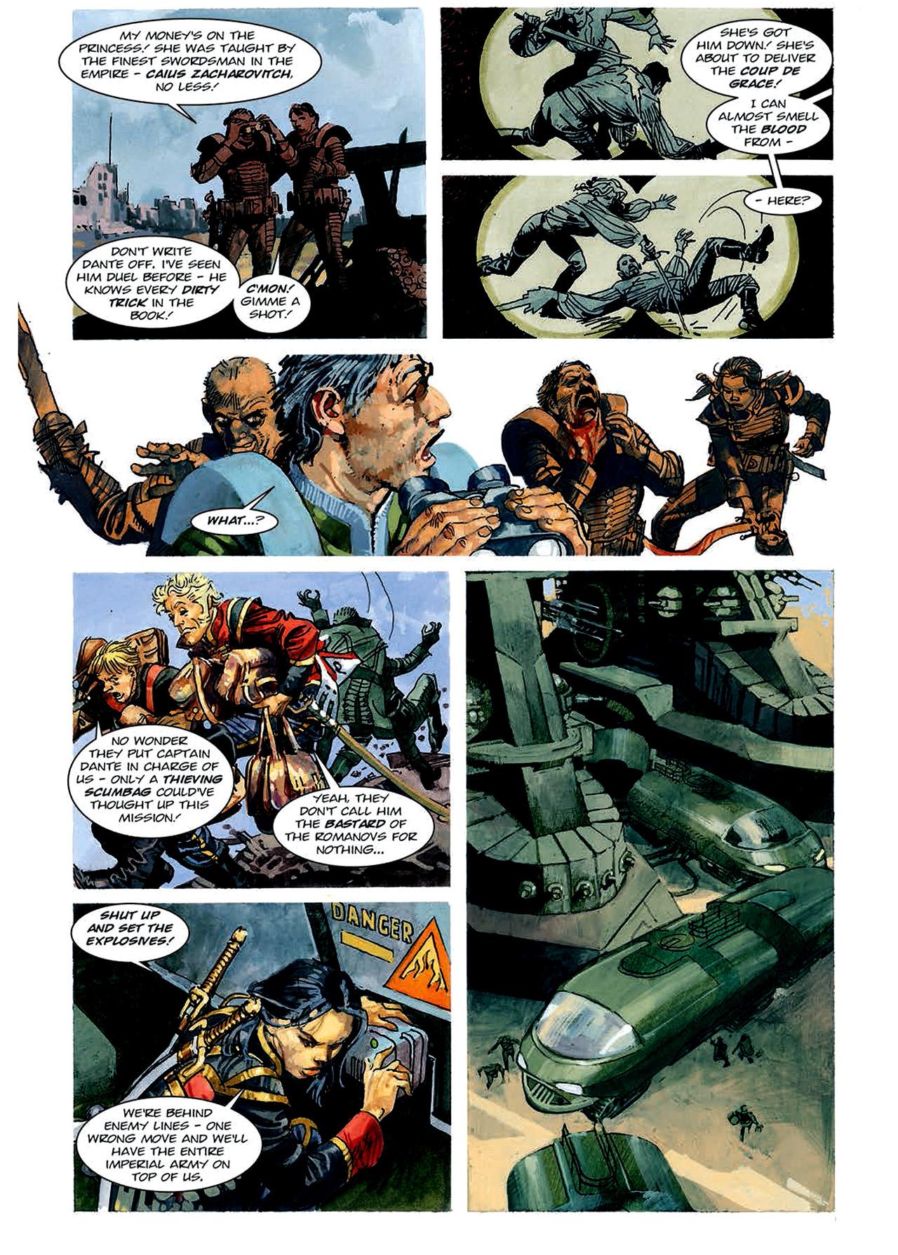 Read online Nikolai Dante comic -  Issue # TPB 4 - 93