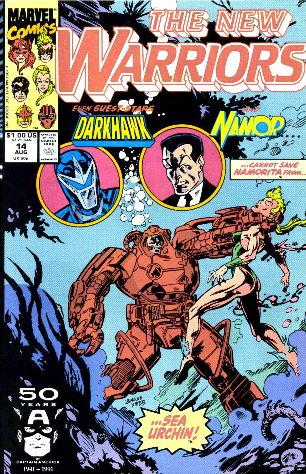 The New Warriors Issue #14 #18 - English 1