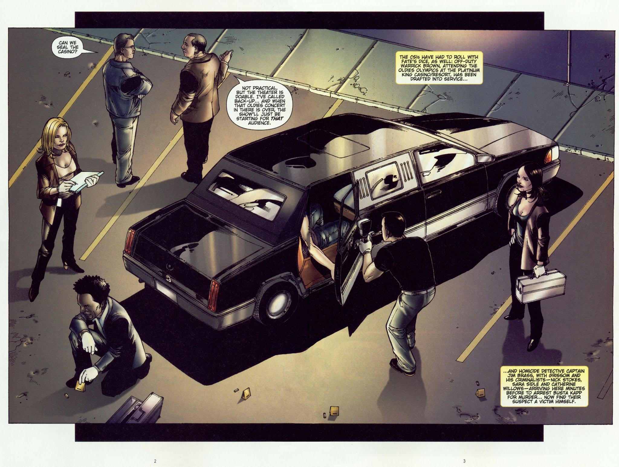 Read online CSI: Crime Scene Investigation: Bad Rap comic -  Issue #2 - 4