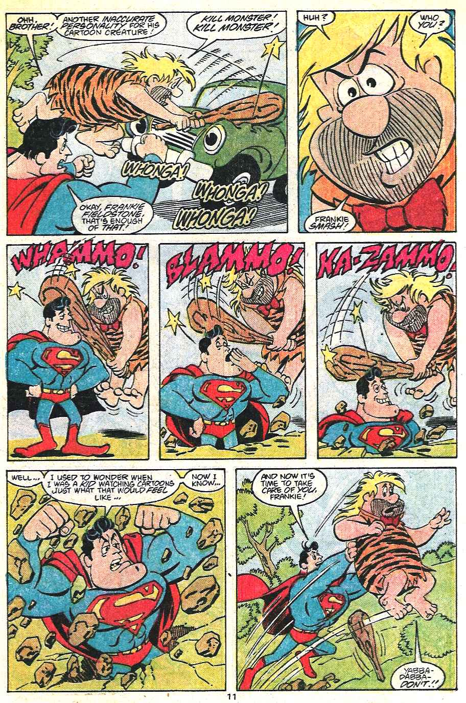 Read online Adventures of Superman (1987) comic -  Issue #441 - 12
