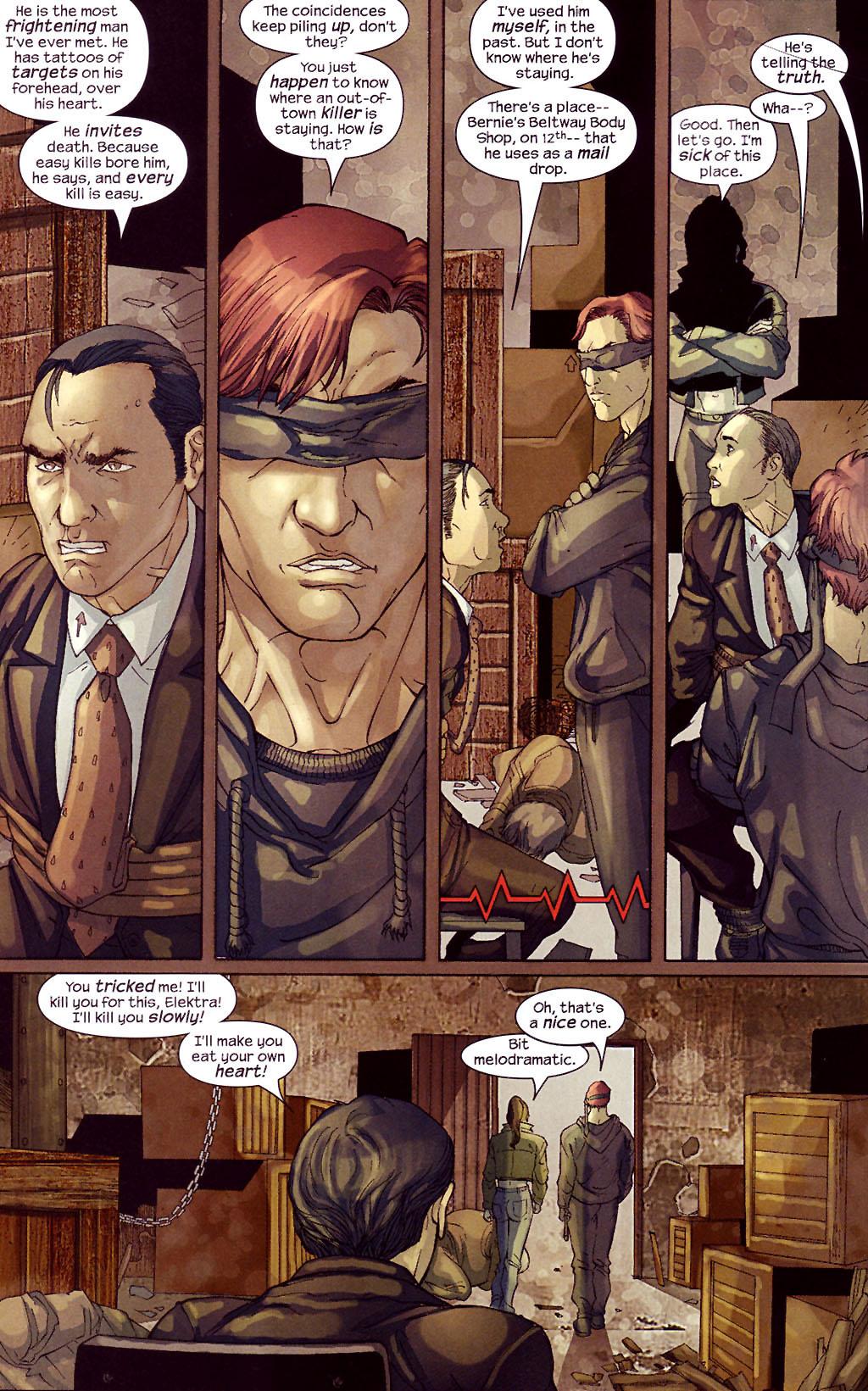 Read online Ultimate Elektra comic -  Issue #4 - 6