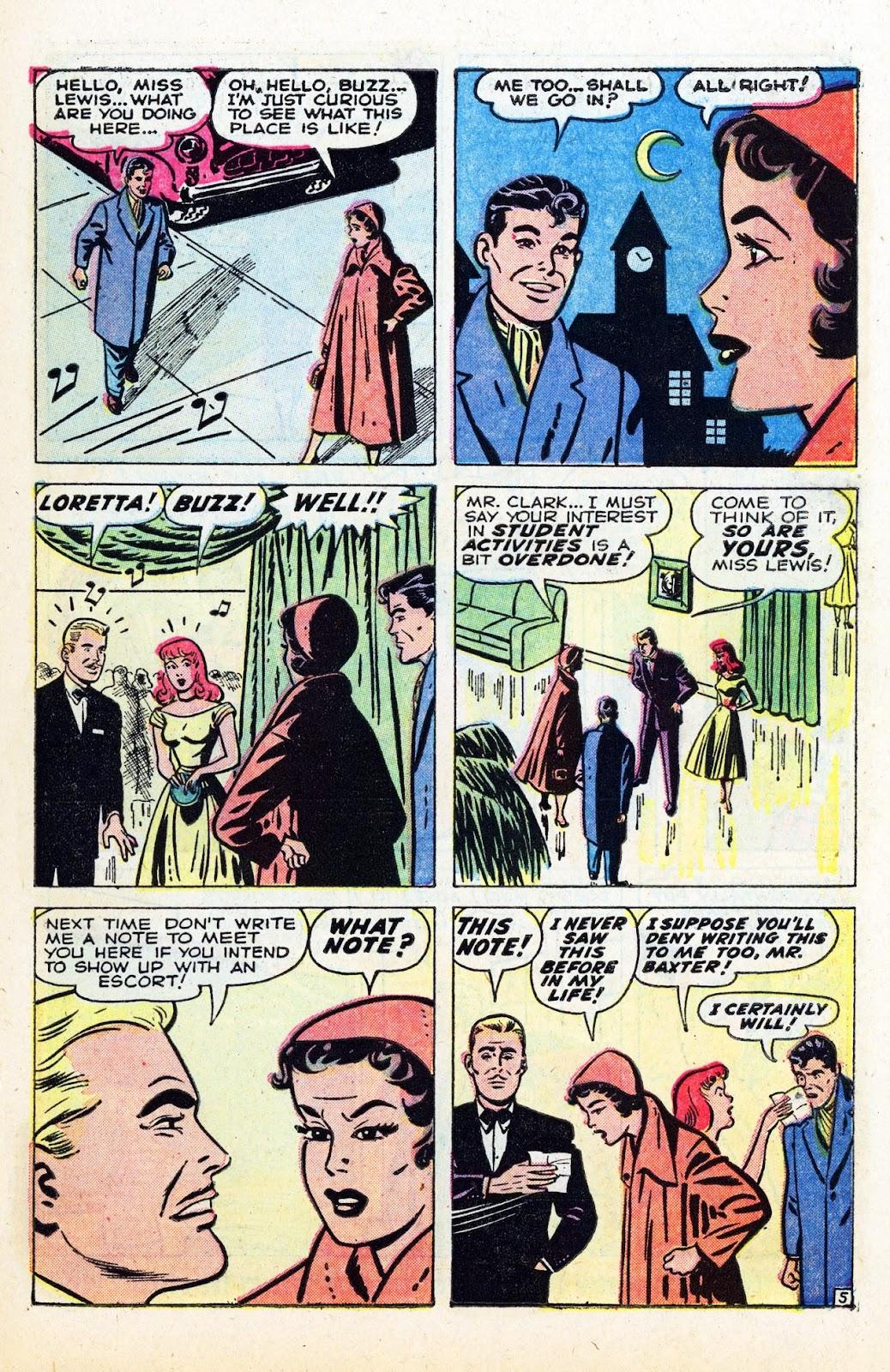 Read online Patsy Walker comic -  Issue #58 - 7