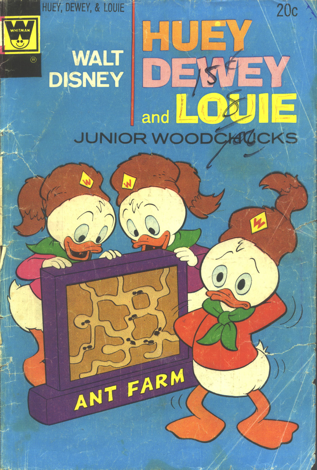 Huey, Dewey, and Louie Junior Woodchucks 25 Page 1
