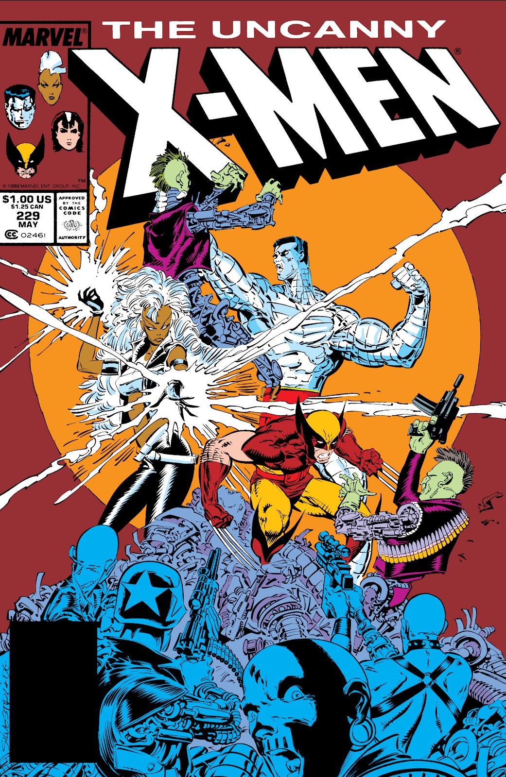 Uncanny X-Men (1963) issue 229 - Page 1