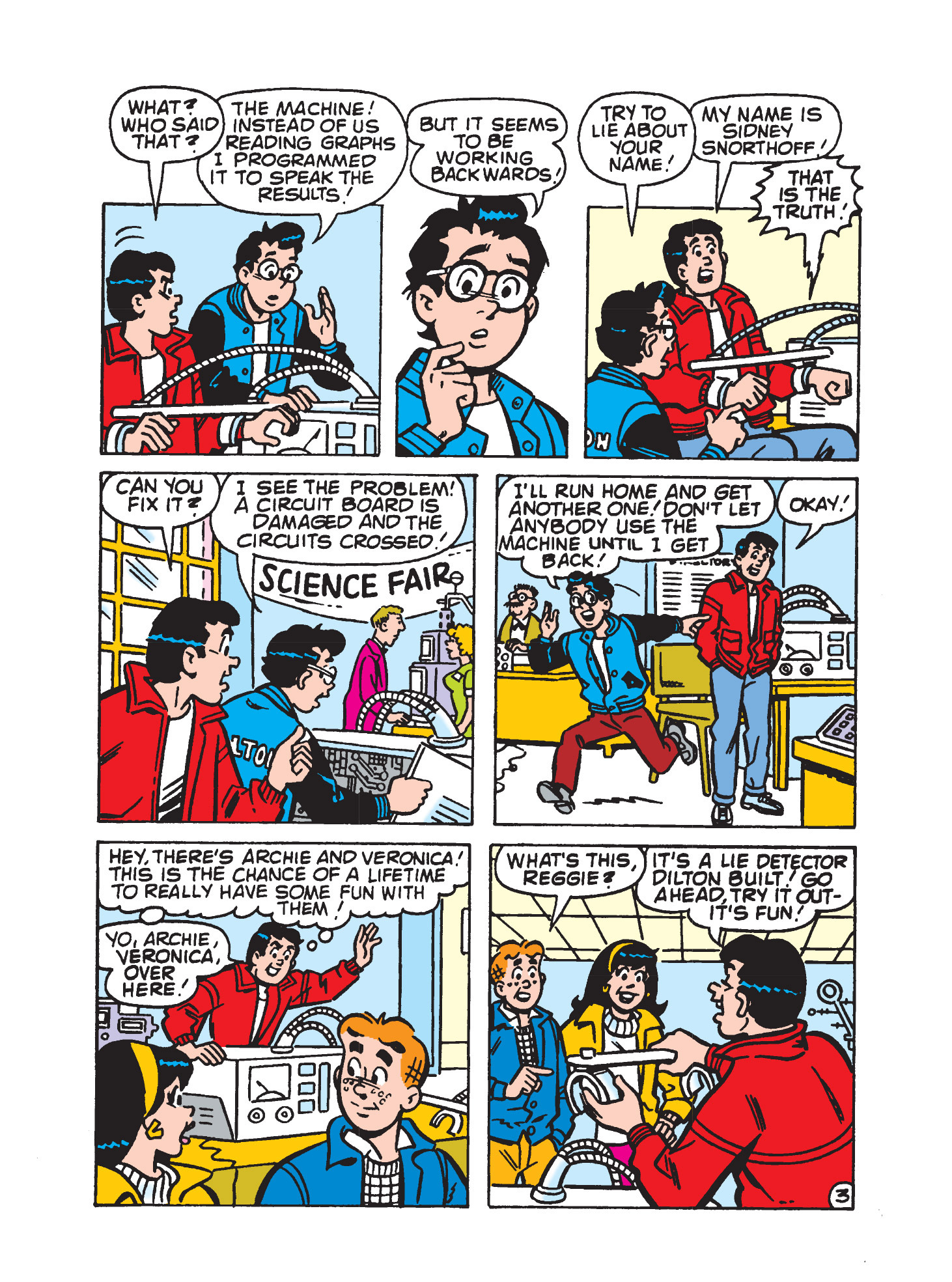 Read online Archie's Funhouse Double Digest comic -  Issue #9 - 150