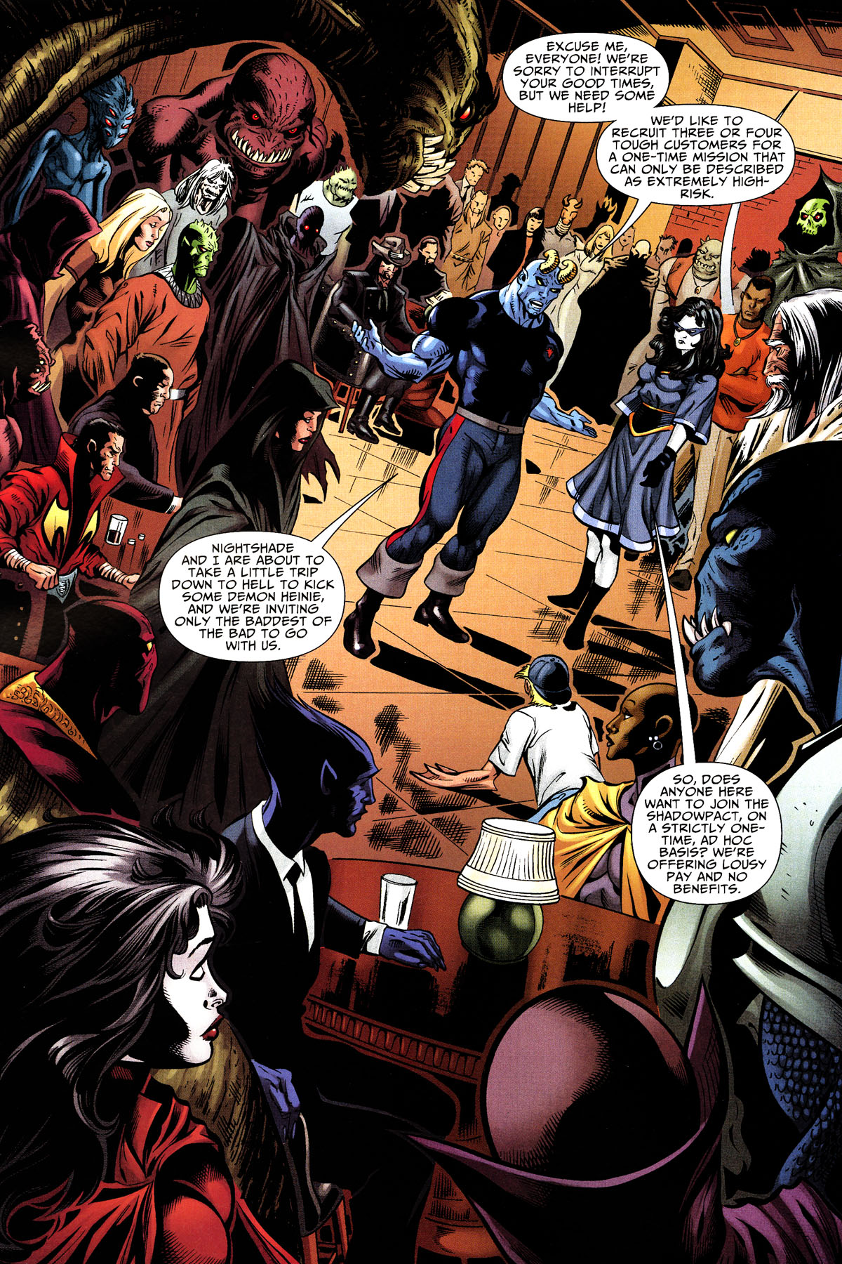 Read online Shadowpact comic -  Issue #10 - 21