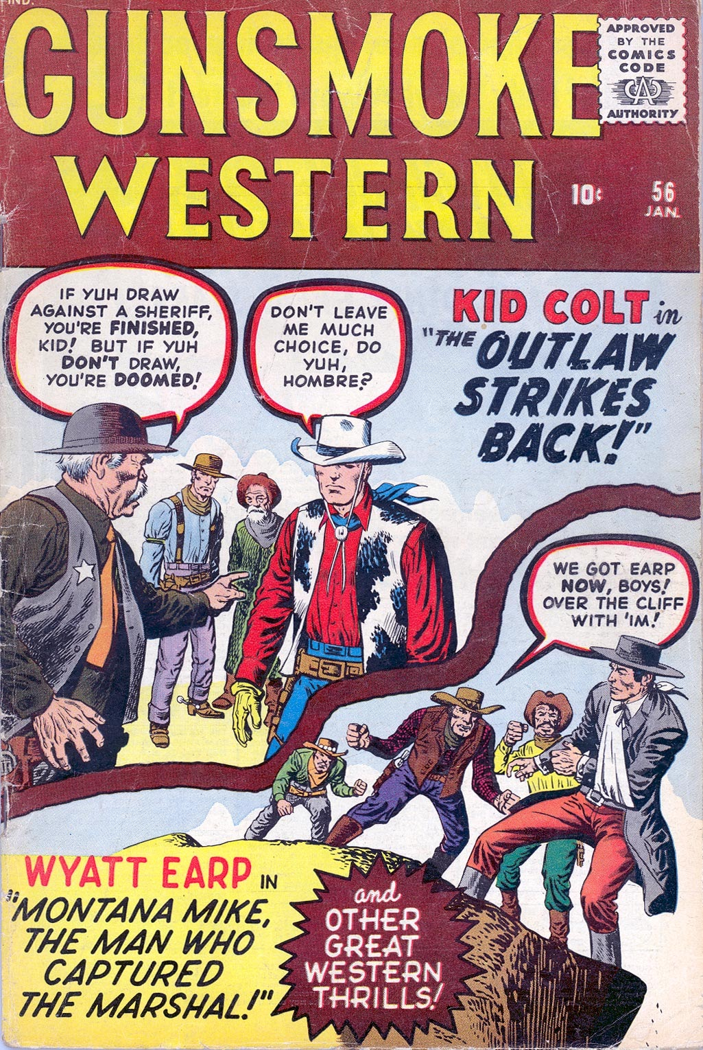 Gunsmoke Western issue 56 - Page 1