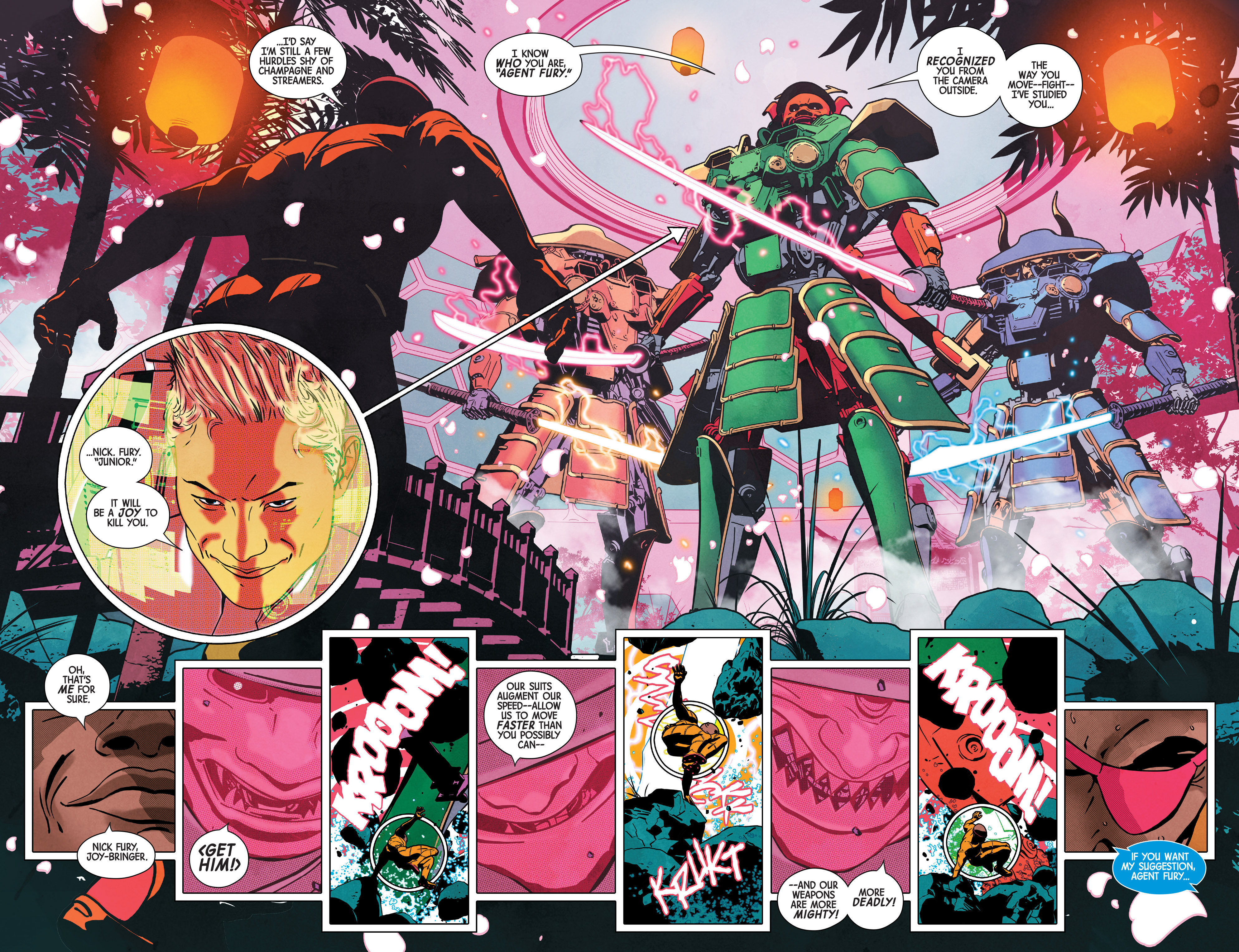 Read online Nick Fury comic -  Issue #2 - 9