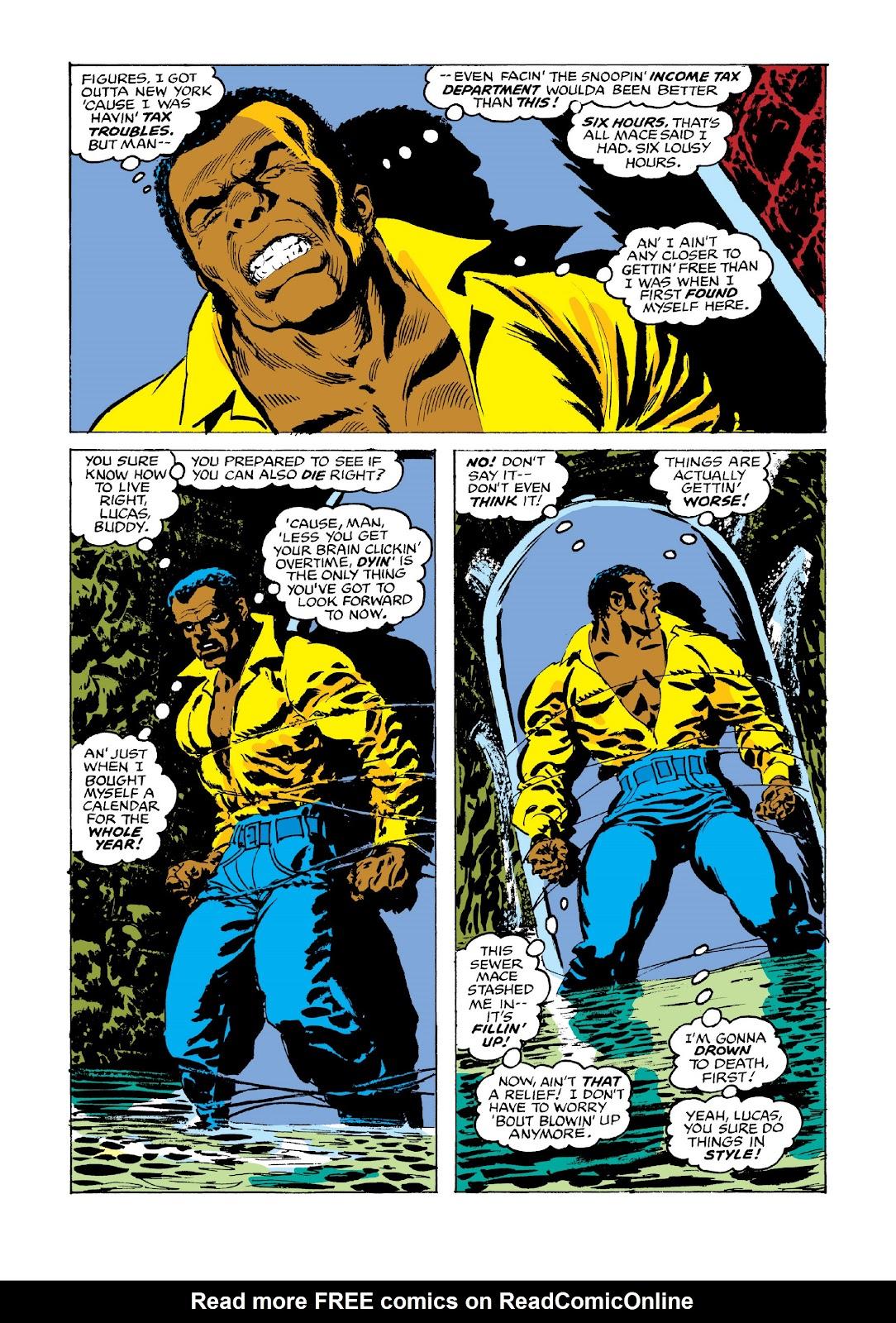 Read online Marvel Masterworks: Luke Cage, Power Man comic -  Issue # TPB 3 (Part 3) - 65