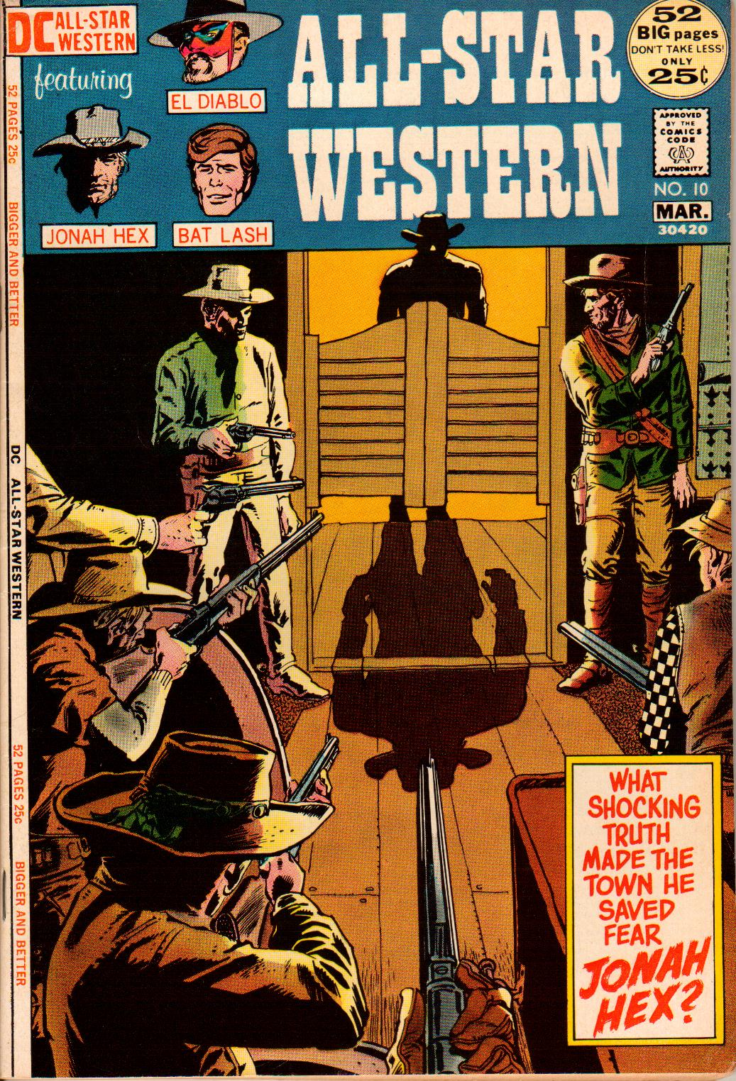 Read online All-Star Western (1970) comic -  Issue #10 - 1