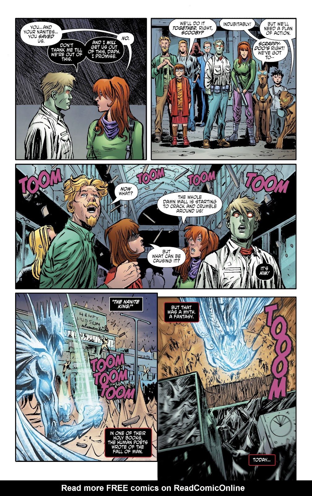 Read online Scooby Apocalypse comic -  Issue #34 - 16