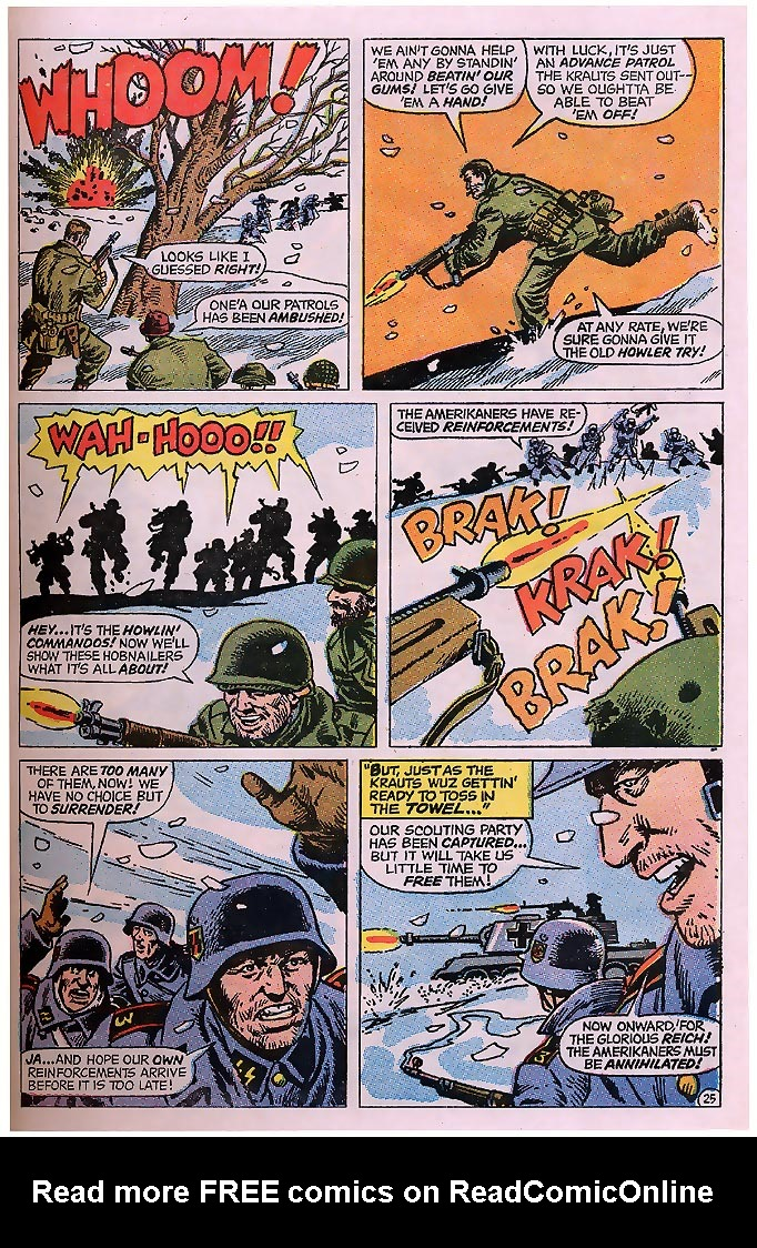 Read online Sgt. Fury comic -  Issue # _Special 4 - 31
