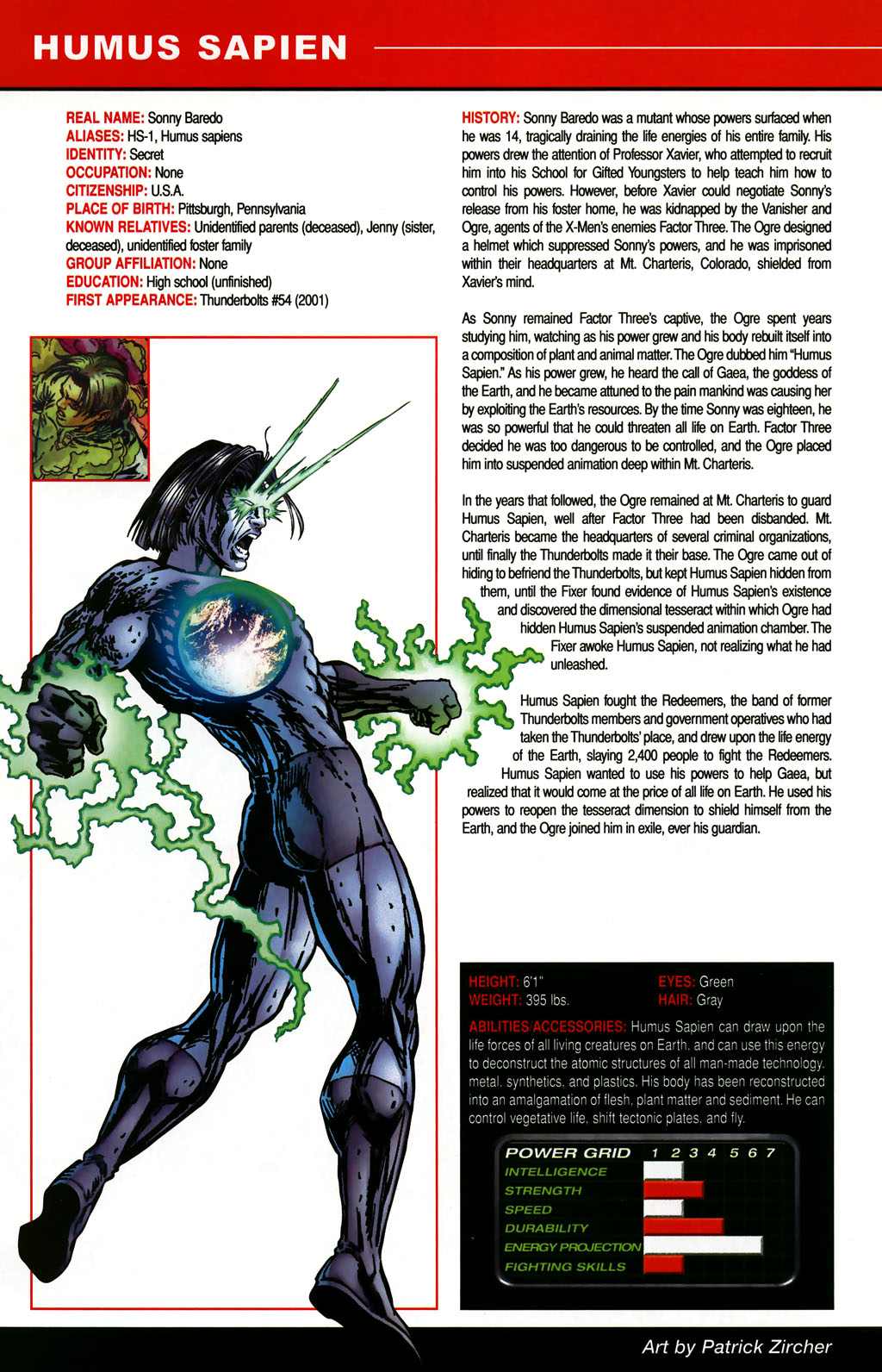 Read online All-New Official Handbook of the Marvel Universe A to Z comic -  Issue #5 - 36