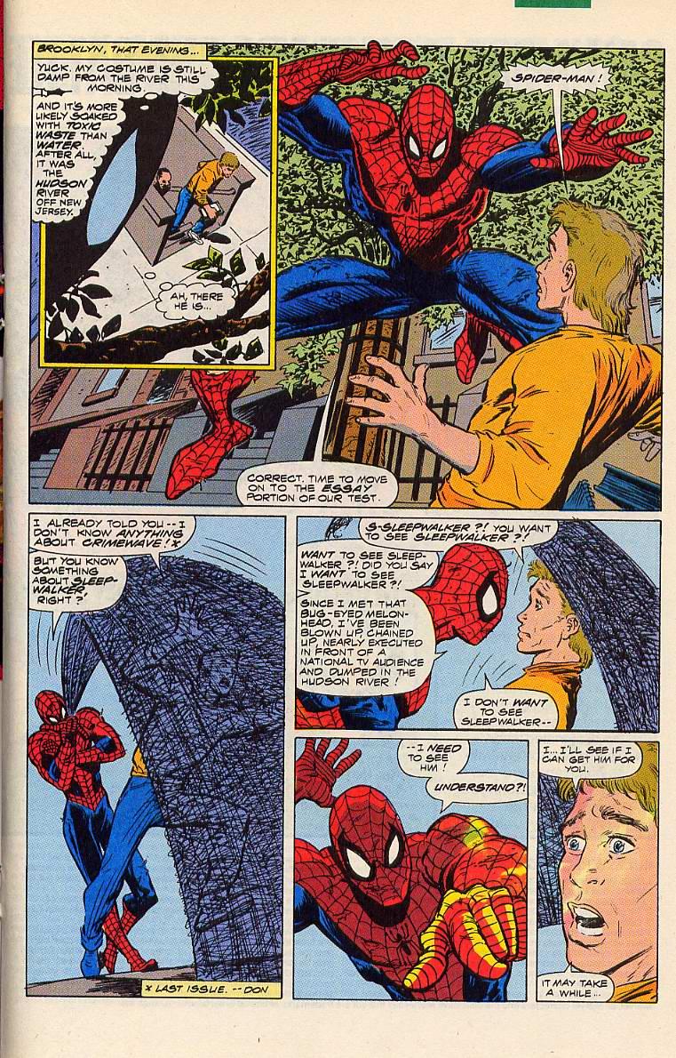 Read online Sleepwalker comic -  Issue #6 - 15