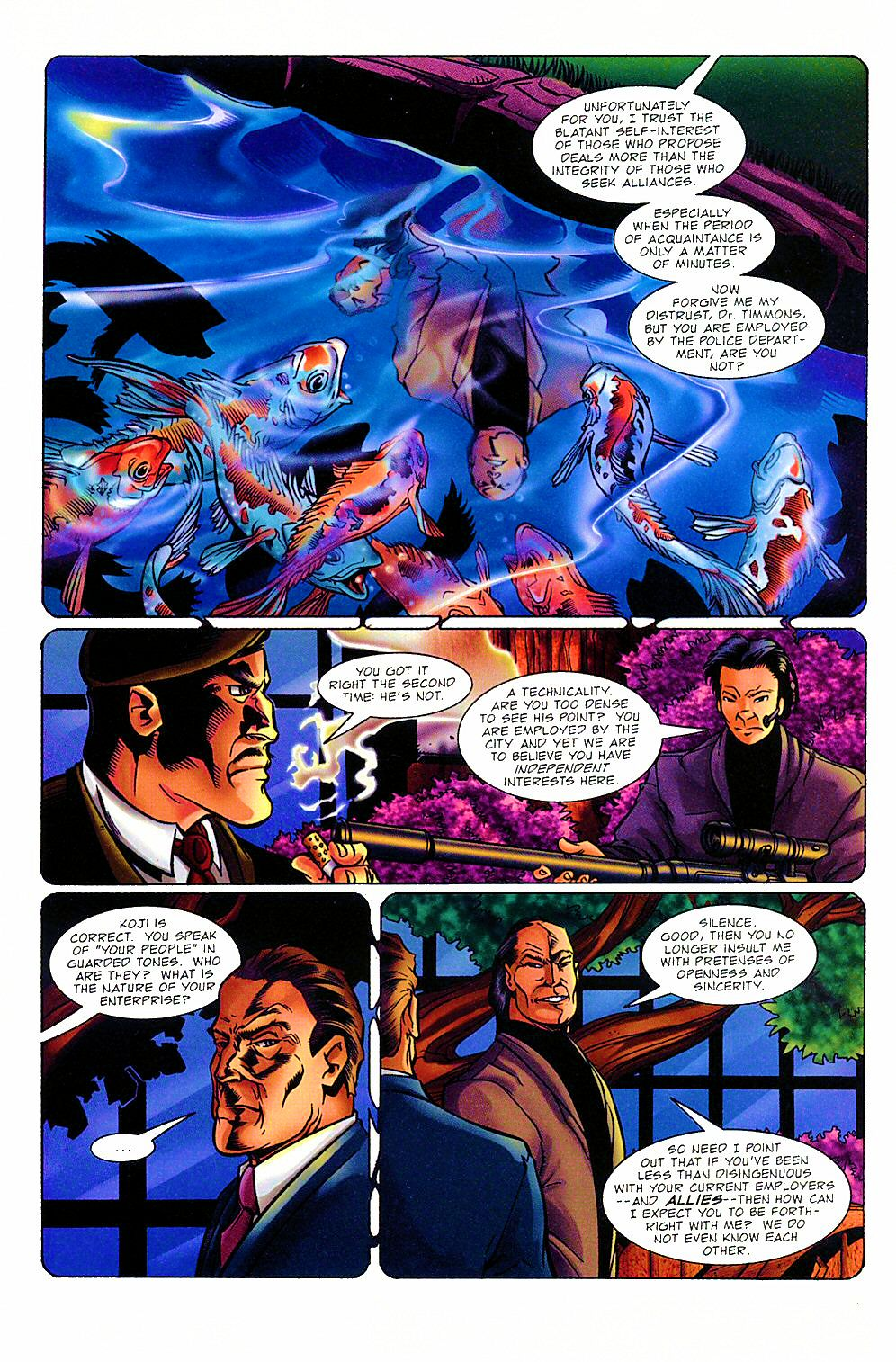 Read online Shi: The Way of the Warrior comic -  Issue #8 - 12