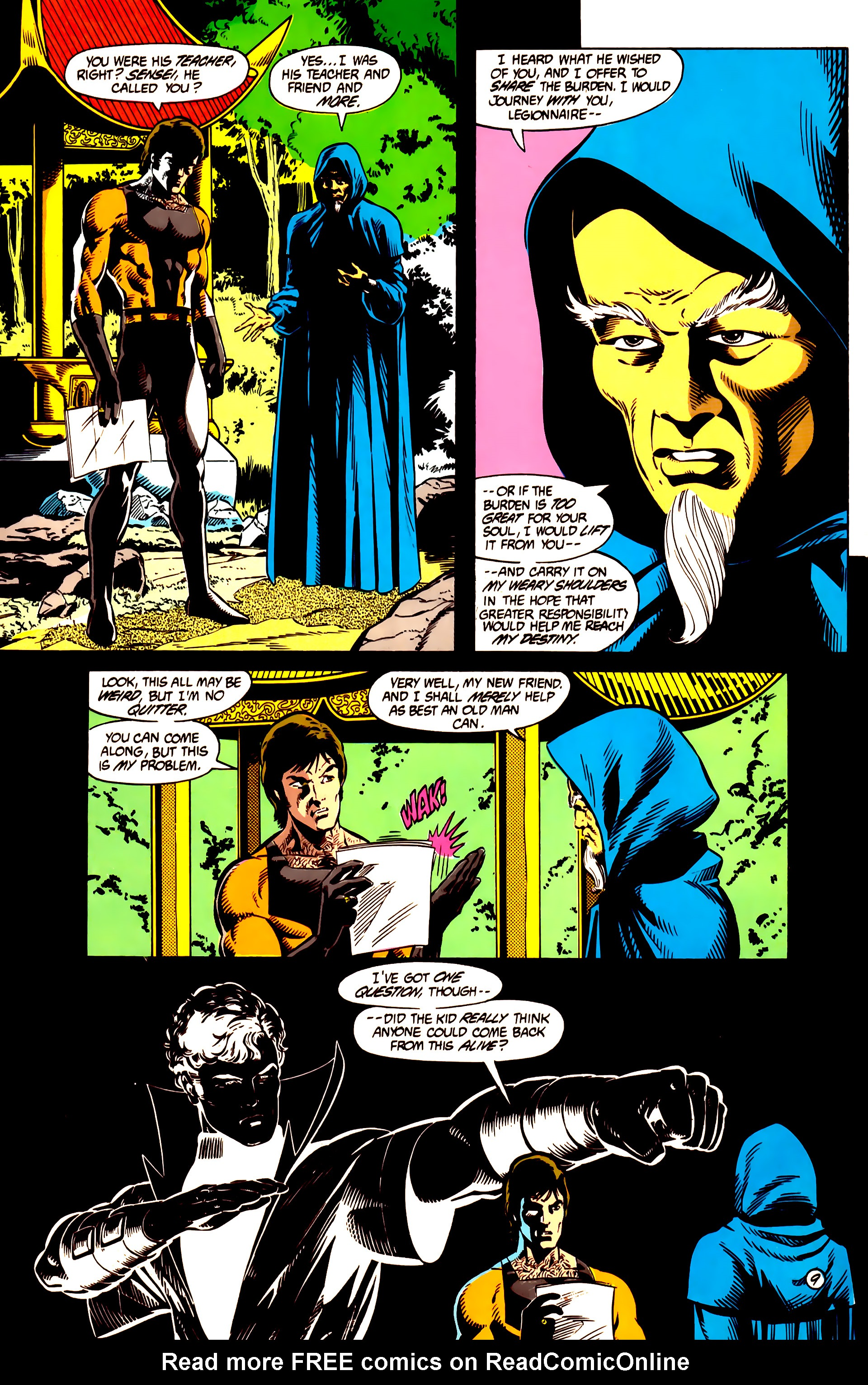 Legion of Super-Heroes (1984) 10 Page 10