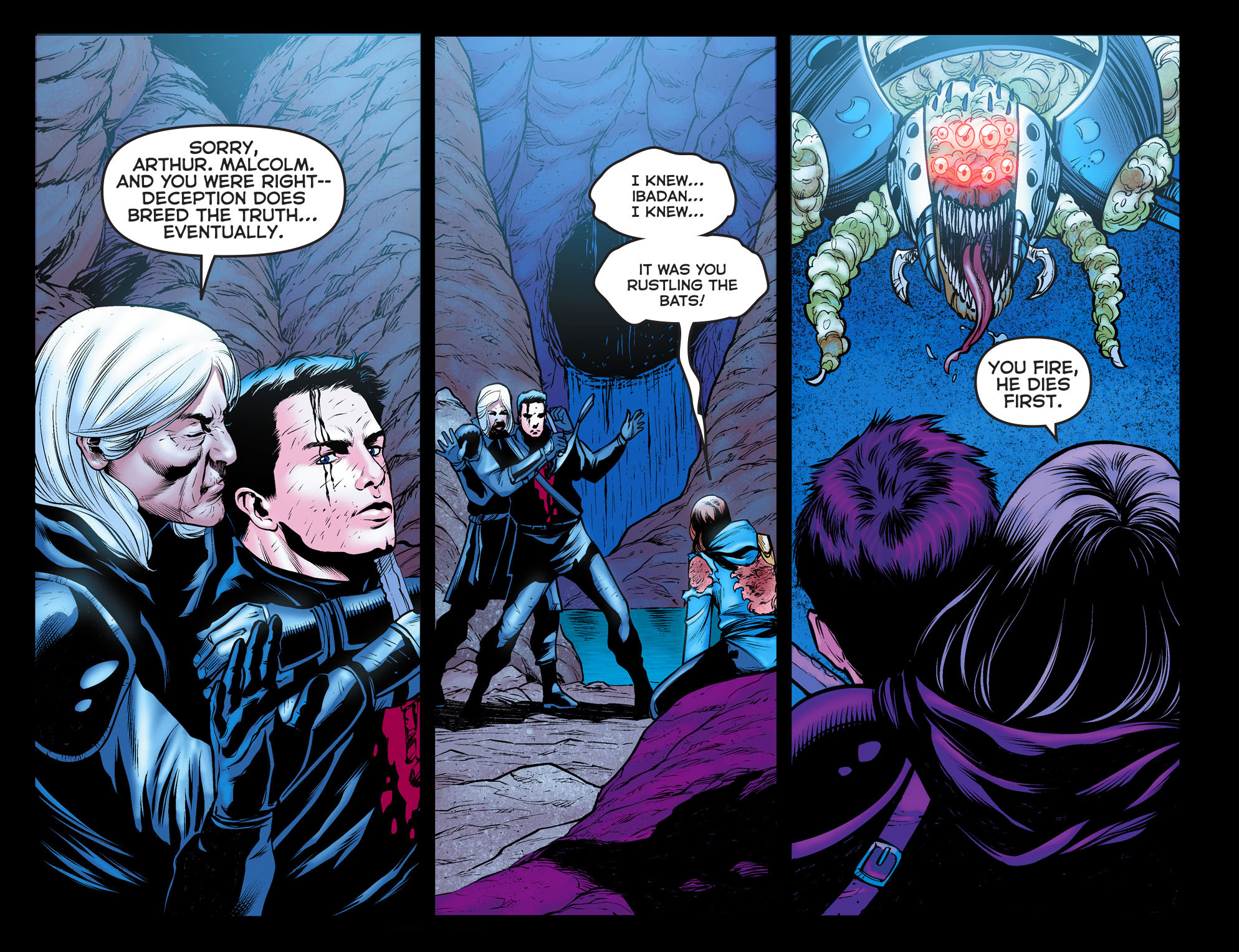 Read online Arrow: The Dark Archer comic -  Issue #11 - 3