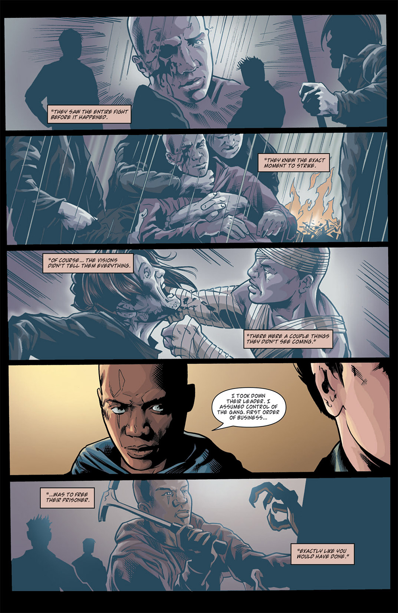 Read online Angel: After The Fall comic -  Issue #11 - 14
