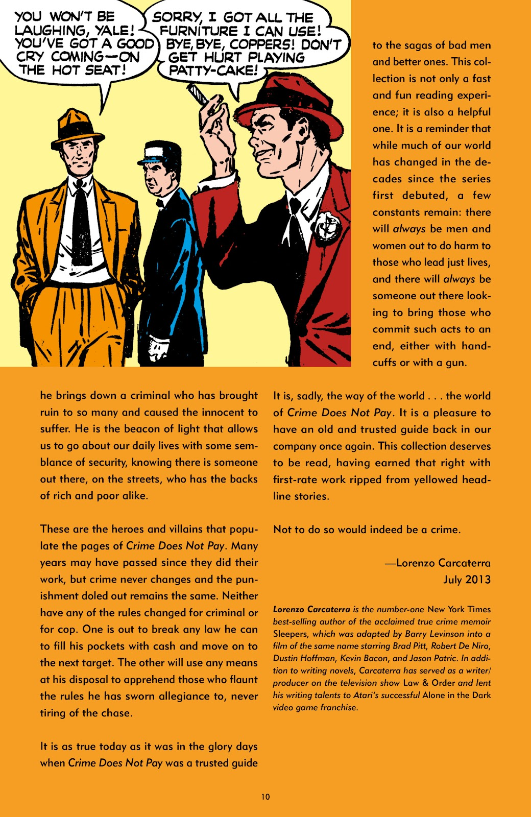 Read online Crime Does Not Pay Archives comic -  Issue # TPB 7 (Part 1) - 10