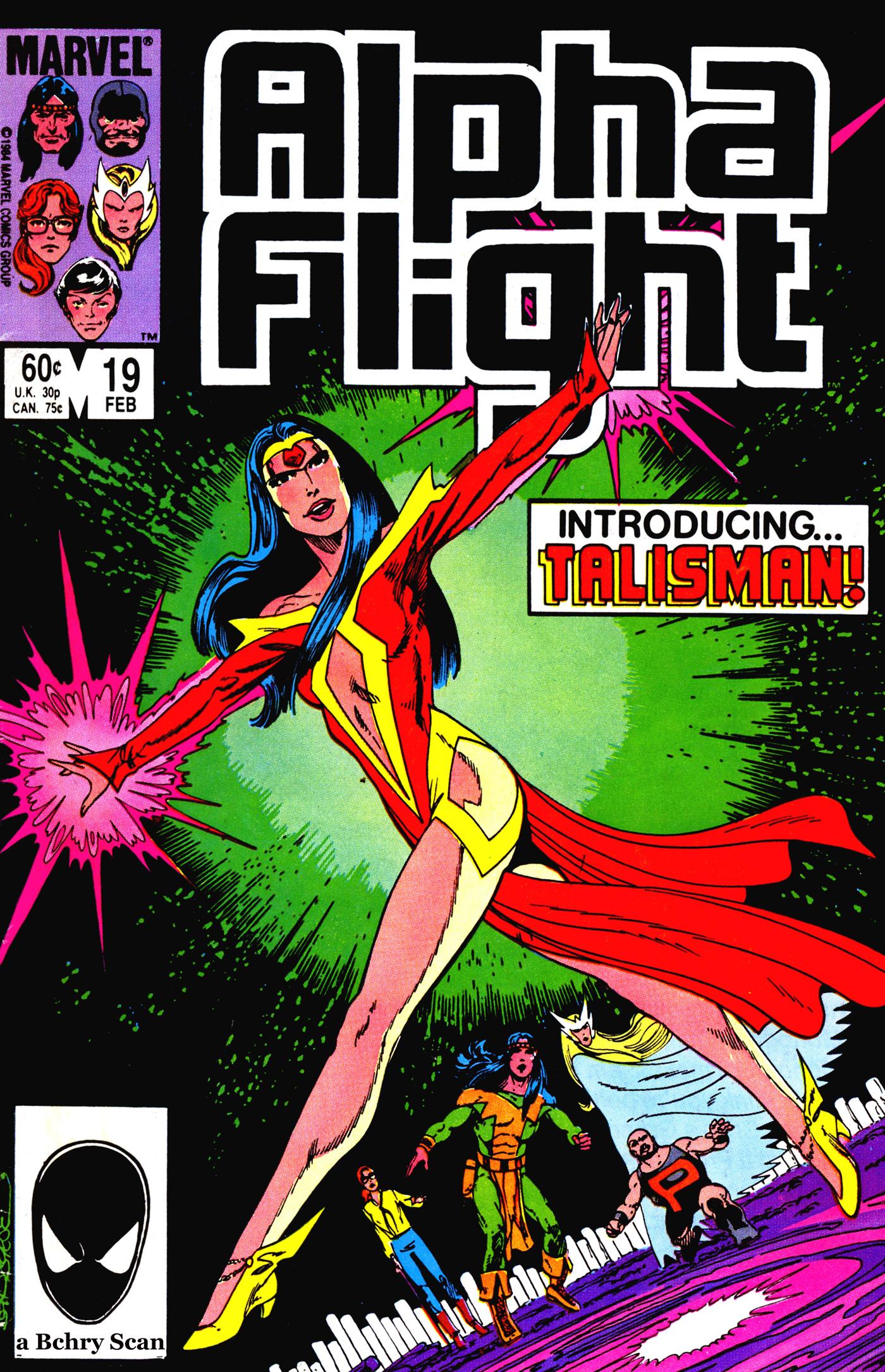 Alpha Flight (1983) 19 Page 1