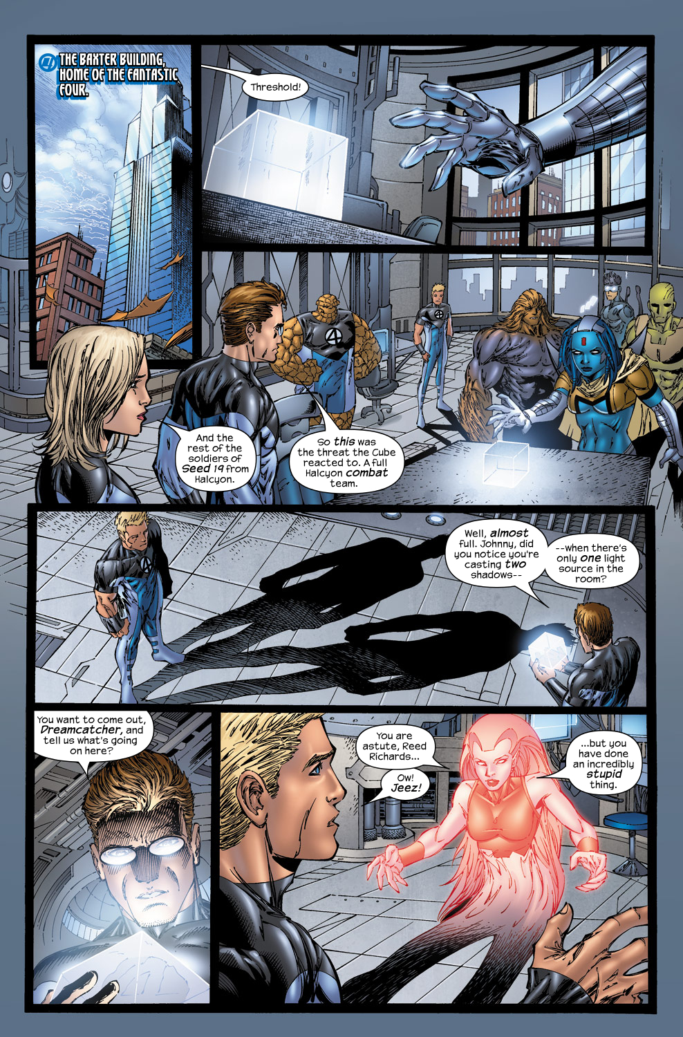 Read online Ultimate Fantastic Four (2004) comic -  Issue #50 - 10