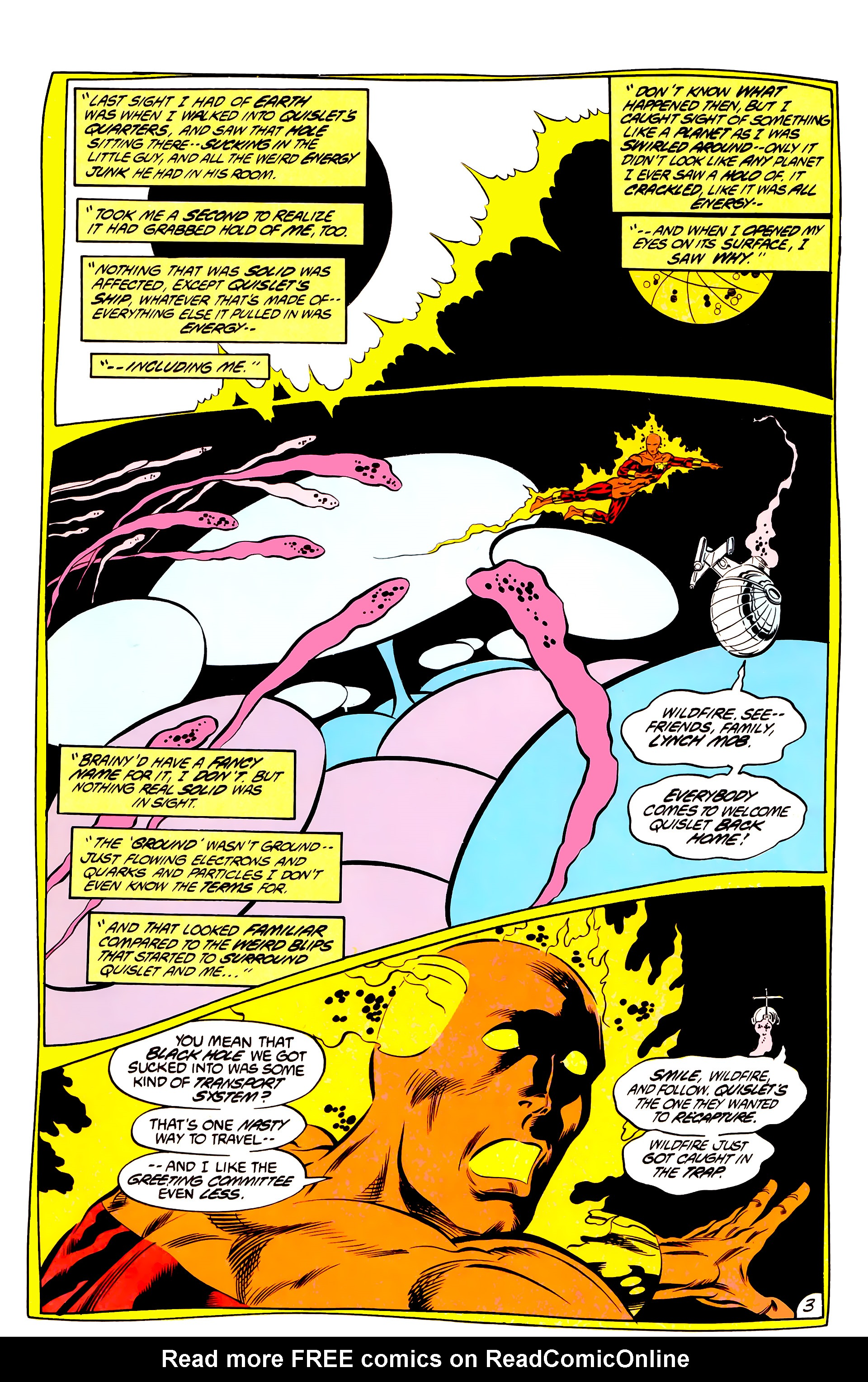 Legion of Super-Heroes (1984) 44 Page 3