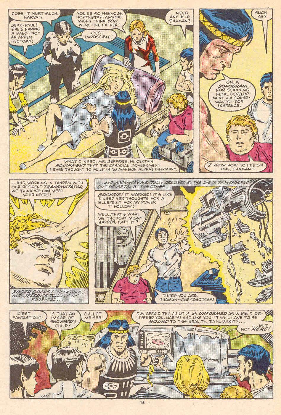 Read online Alpha Flight (1983) comic -  Issue #36 - 15